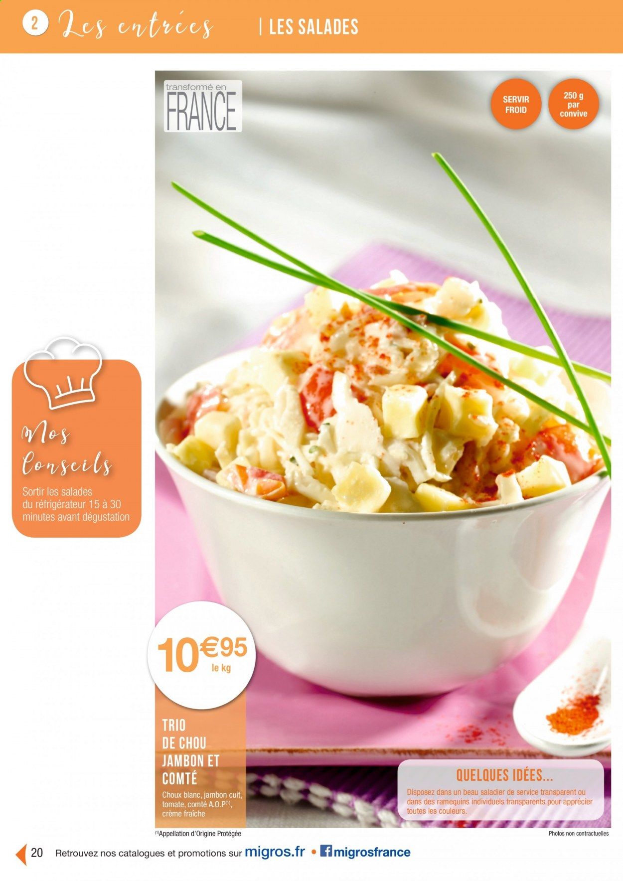 Catalogue Migros France - 01.08.2020 - 26.11.2020. Page 20.