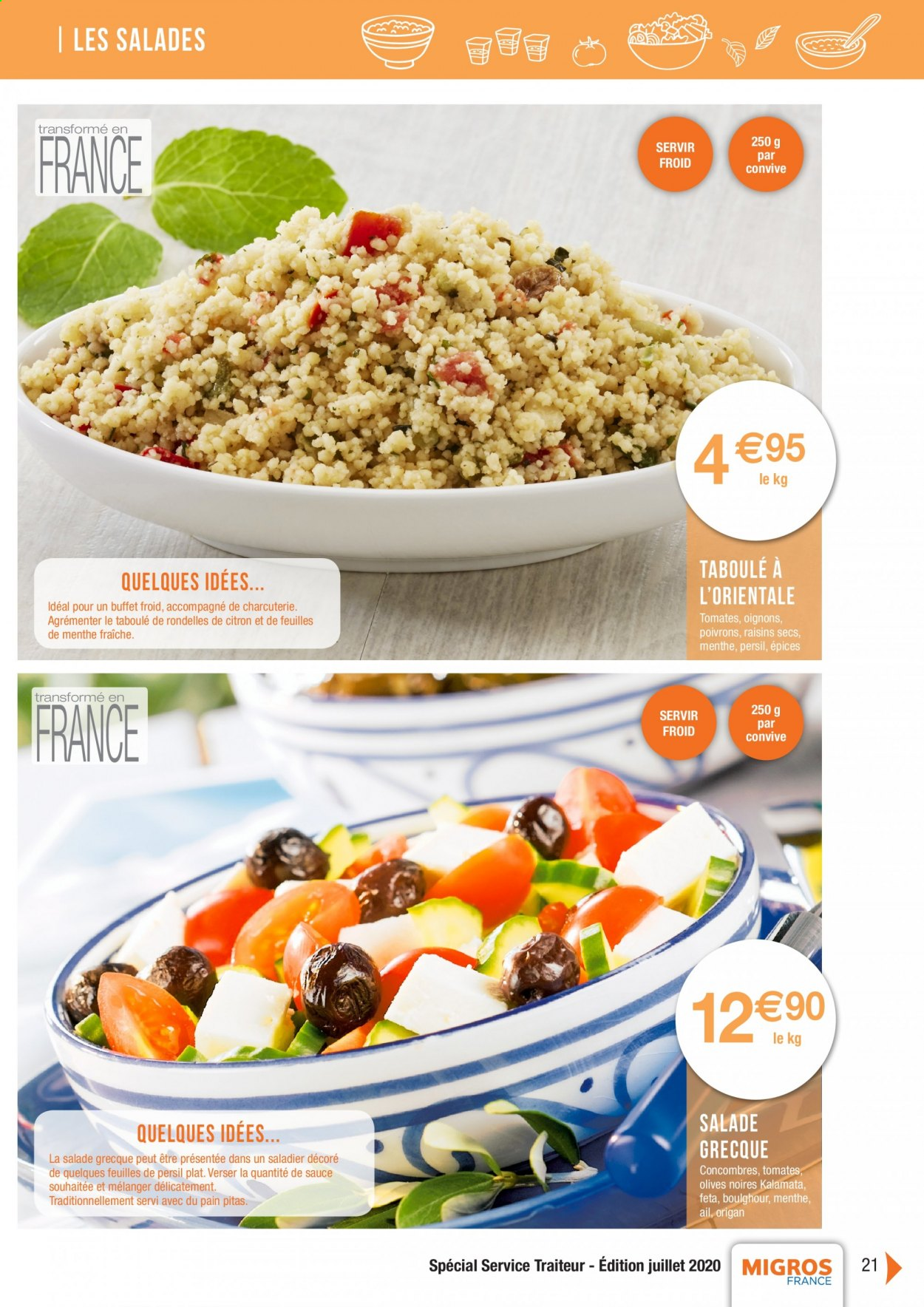 Catalogue Migros France - 01.08.2020 - 26.11.2020. Page 21.