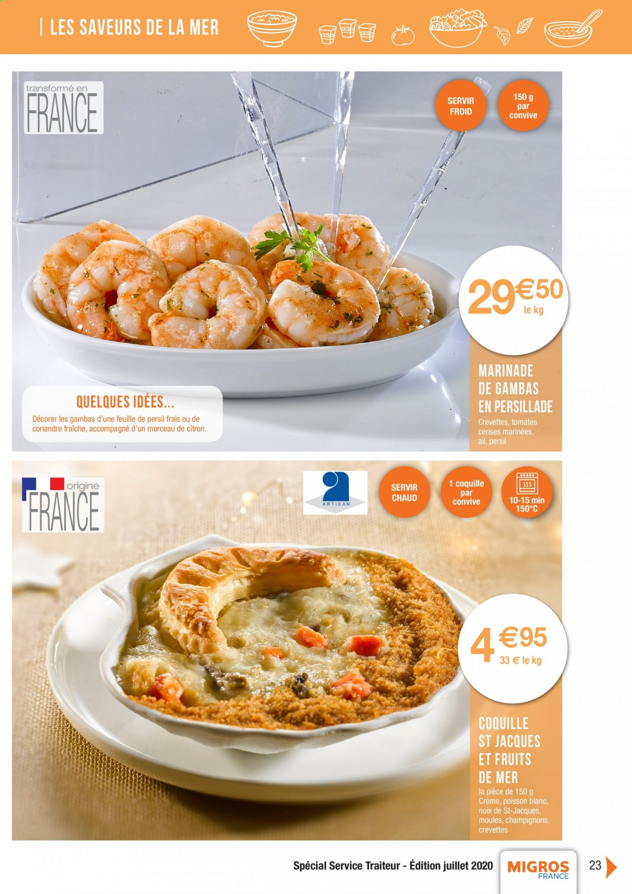 Catalogue Migros France - 01.08.2020 - 26.11.2020. Page 23.