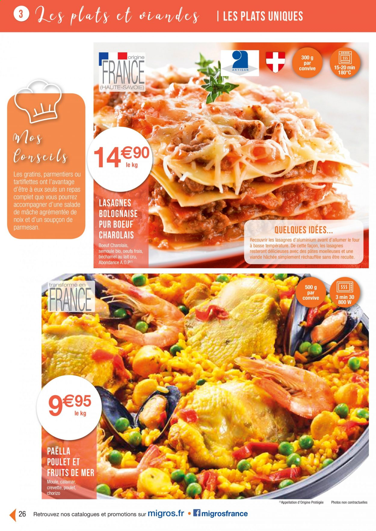 Catalogue Migros France - 01.08.2020 - 26.11.2020. Page 26.