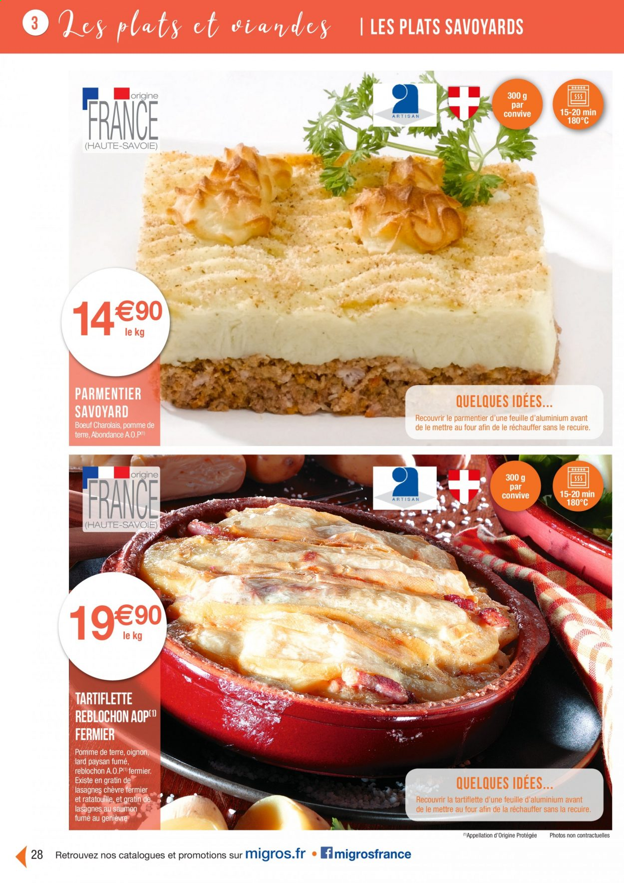 Catalogue Migros France - 01.08.2020 - 26.11.2020. Page 28.