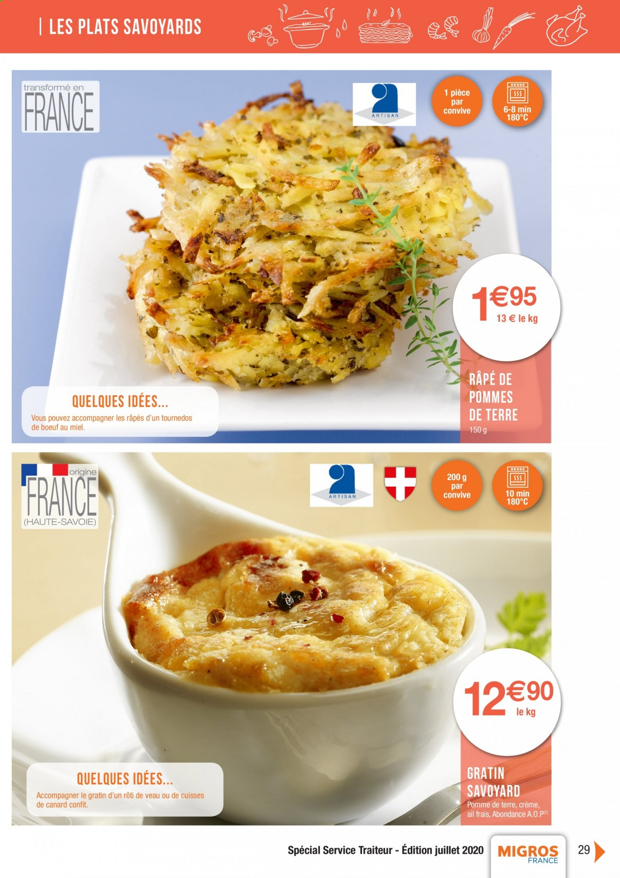 Catalogue Migros France - 01.08.2020 - 26.11.2020. Page 29.