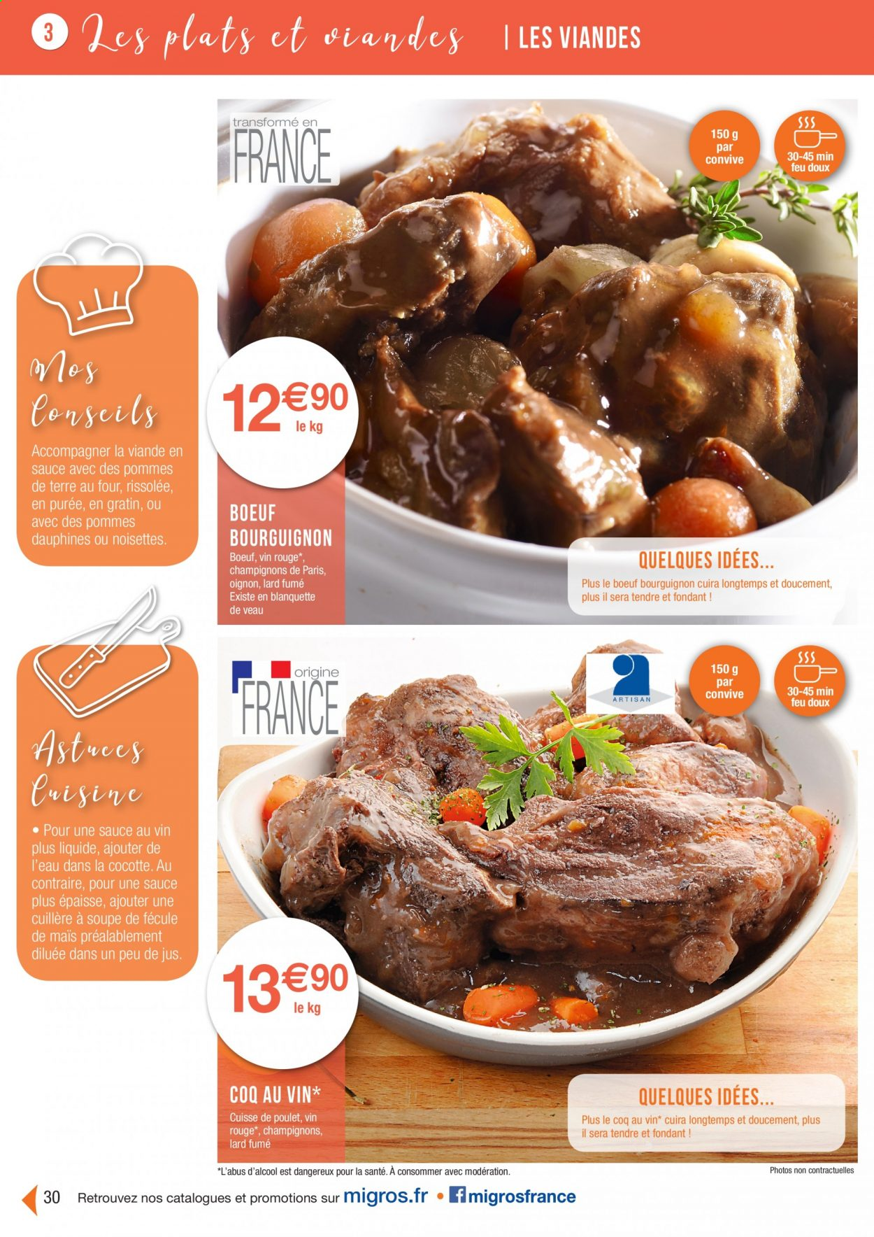 Catalogue Migros France - 01.08.2020 - 26.11.2020. Page 30.