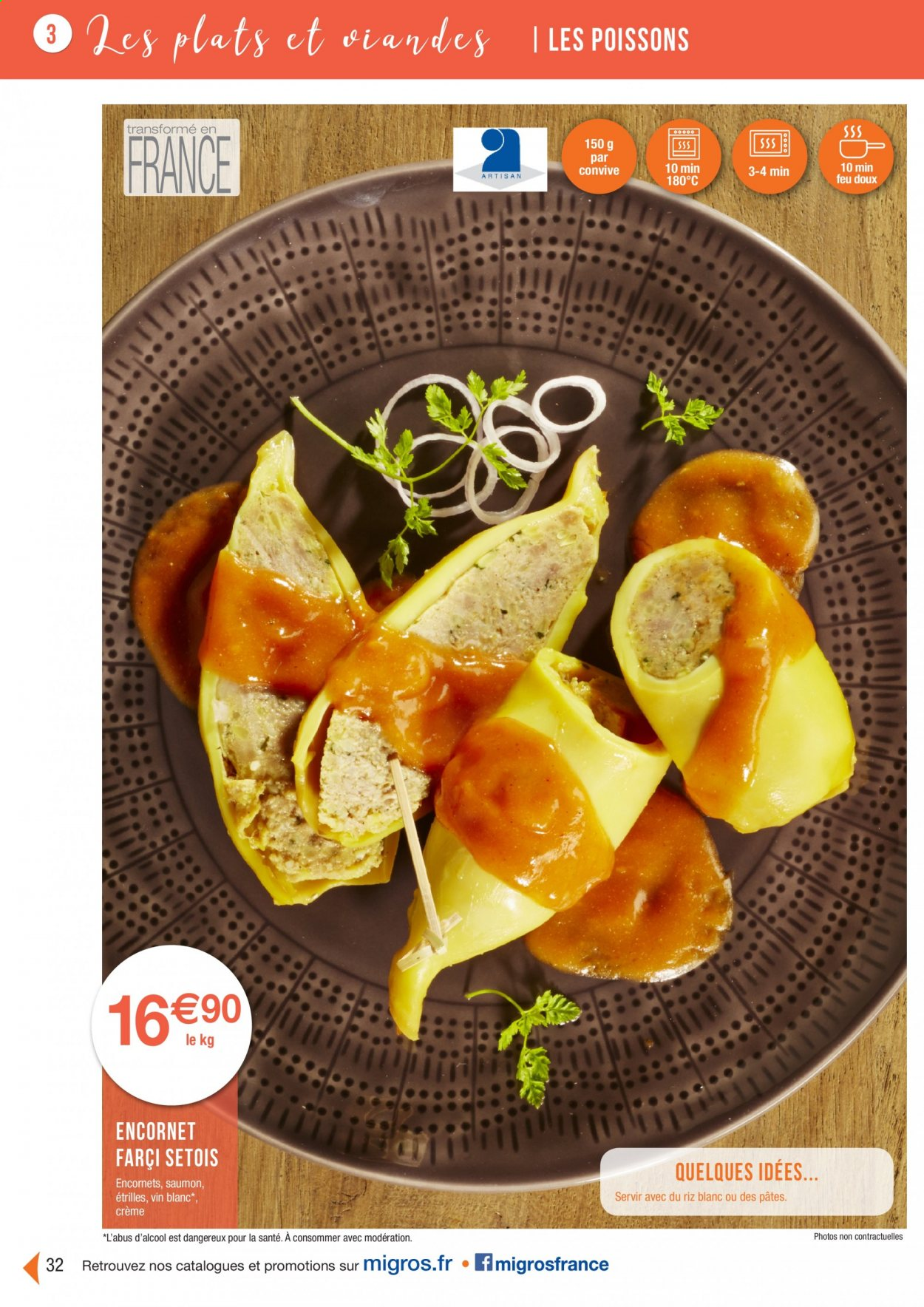 Catalogue Migros France - 01.08.2020 - 26.11.2020. Page 32.