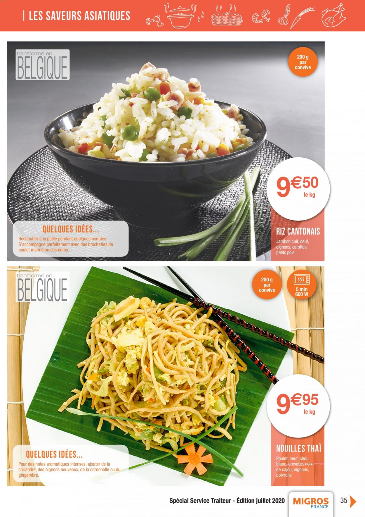 Catalogue Migros France - 01.08.2020 - 26.11.2020. Page 35.