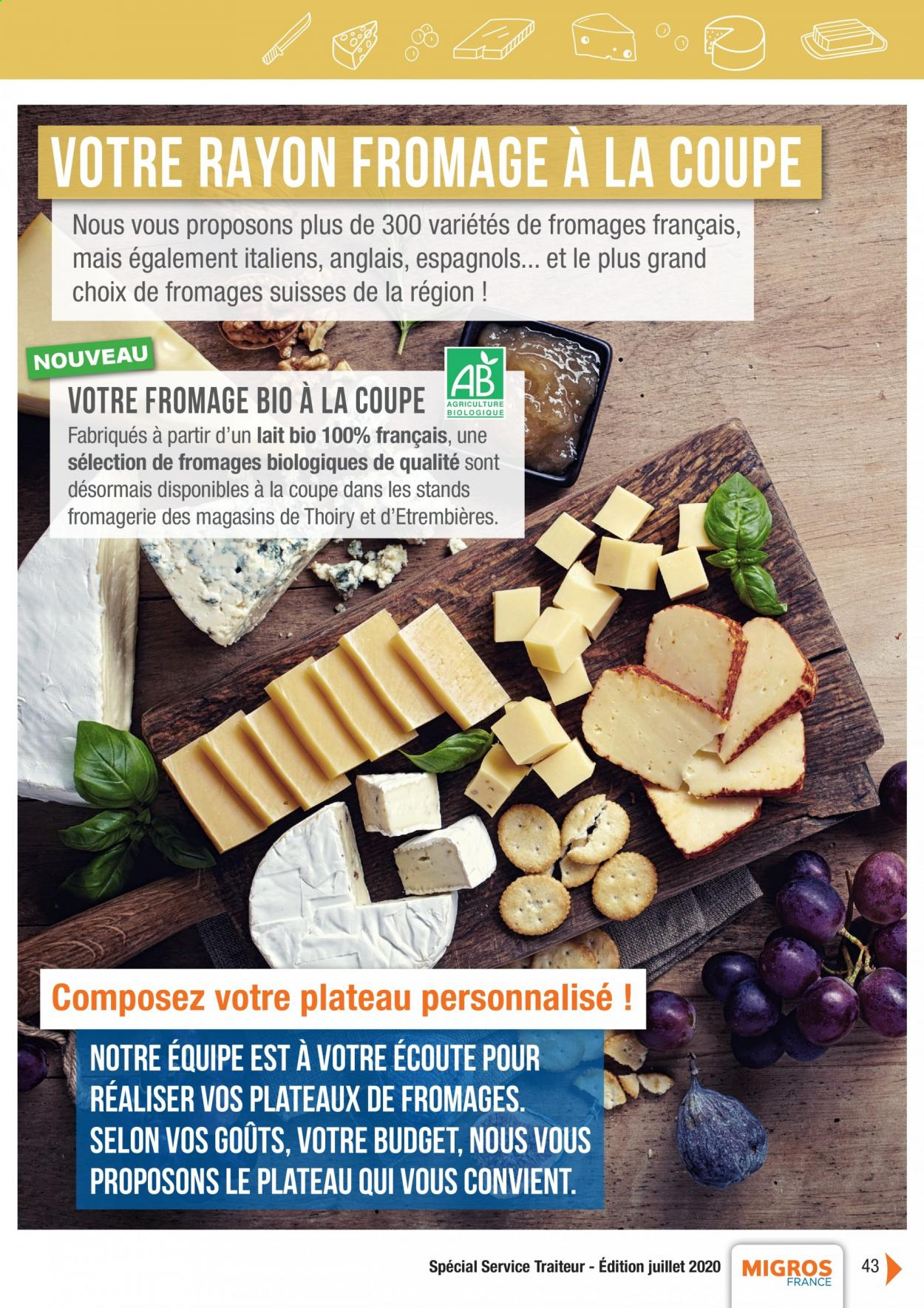Catalogue Migros France - 01.08.2020 - 26.11.2020. Page 43.