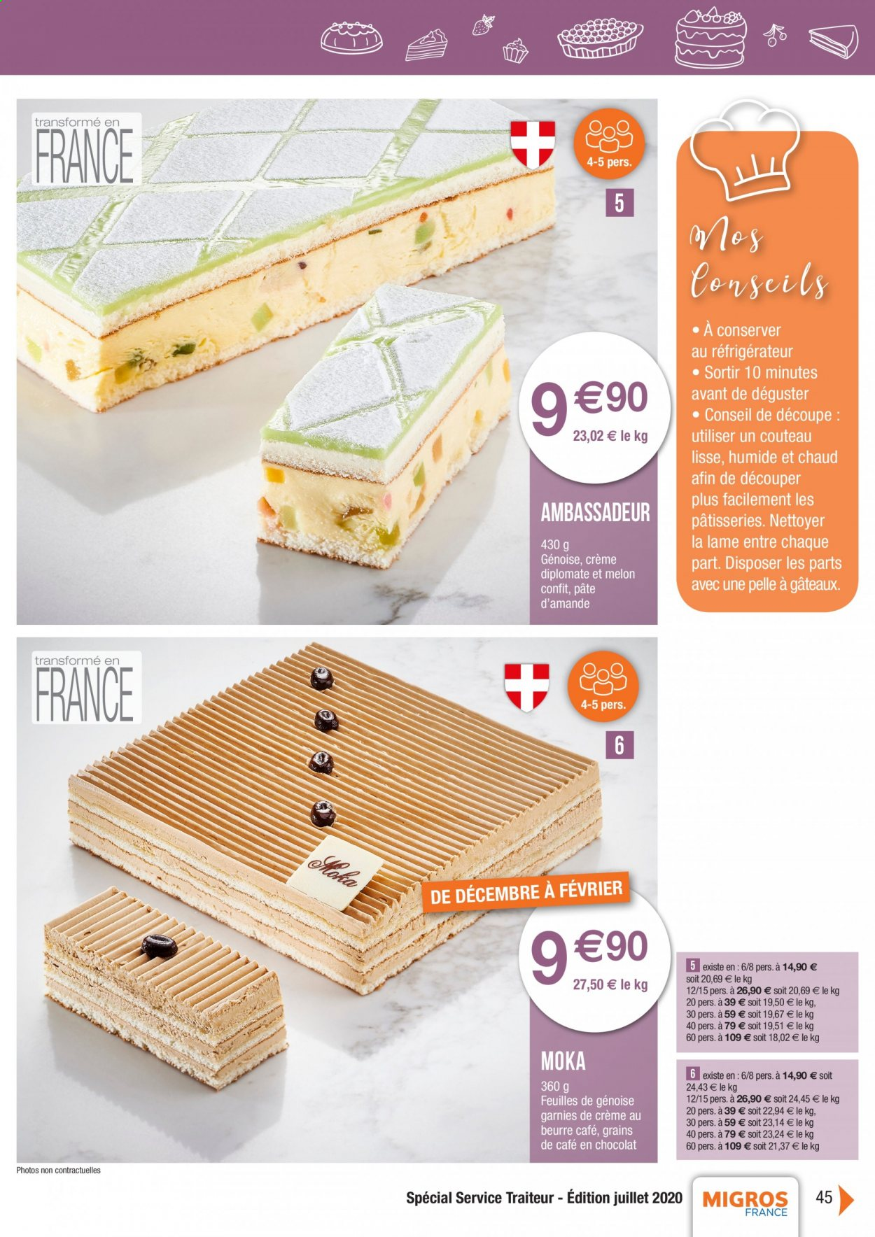 Catalogue Migros France - 01.08.2020 - 26.11.2020. Page 45.