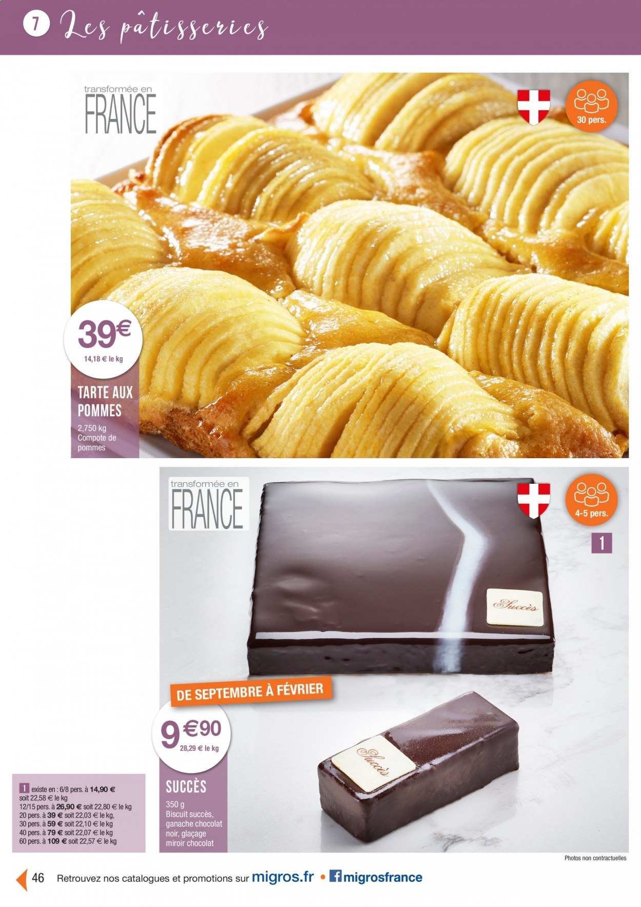 Catalogue Migros France - 01.08.2020 - 26.11.2020. Page 46.