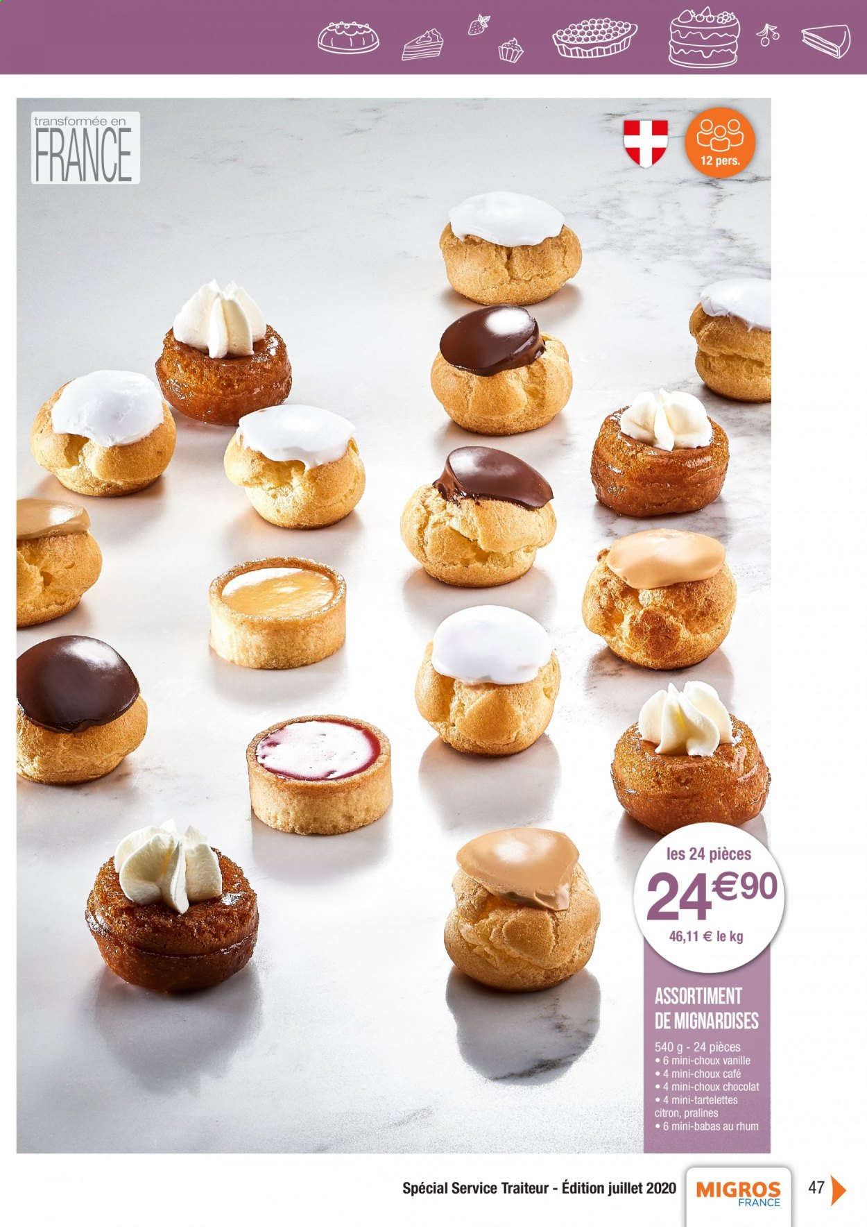 Catalogue Migros France - 01.08.2020 - 26.11.2020. Page 47.