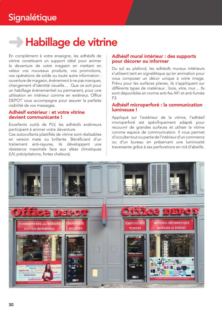 Catalogue Office Depot - 01.09.2020 - 31.12.2020. Page 30.