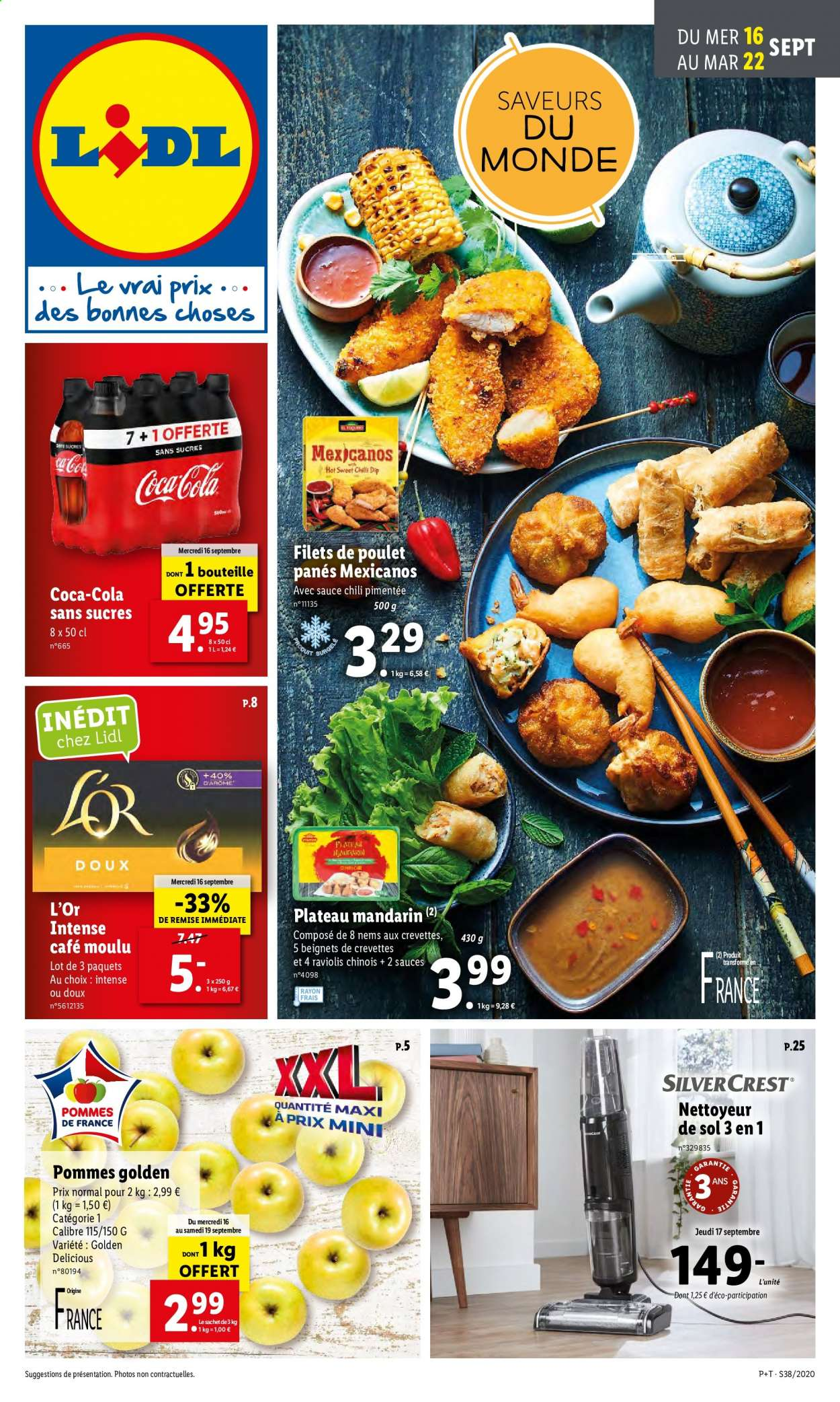 Catalogue Lidl - 16.09.2020 - 22.09.2020. Page 1.