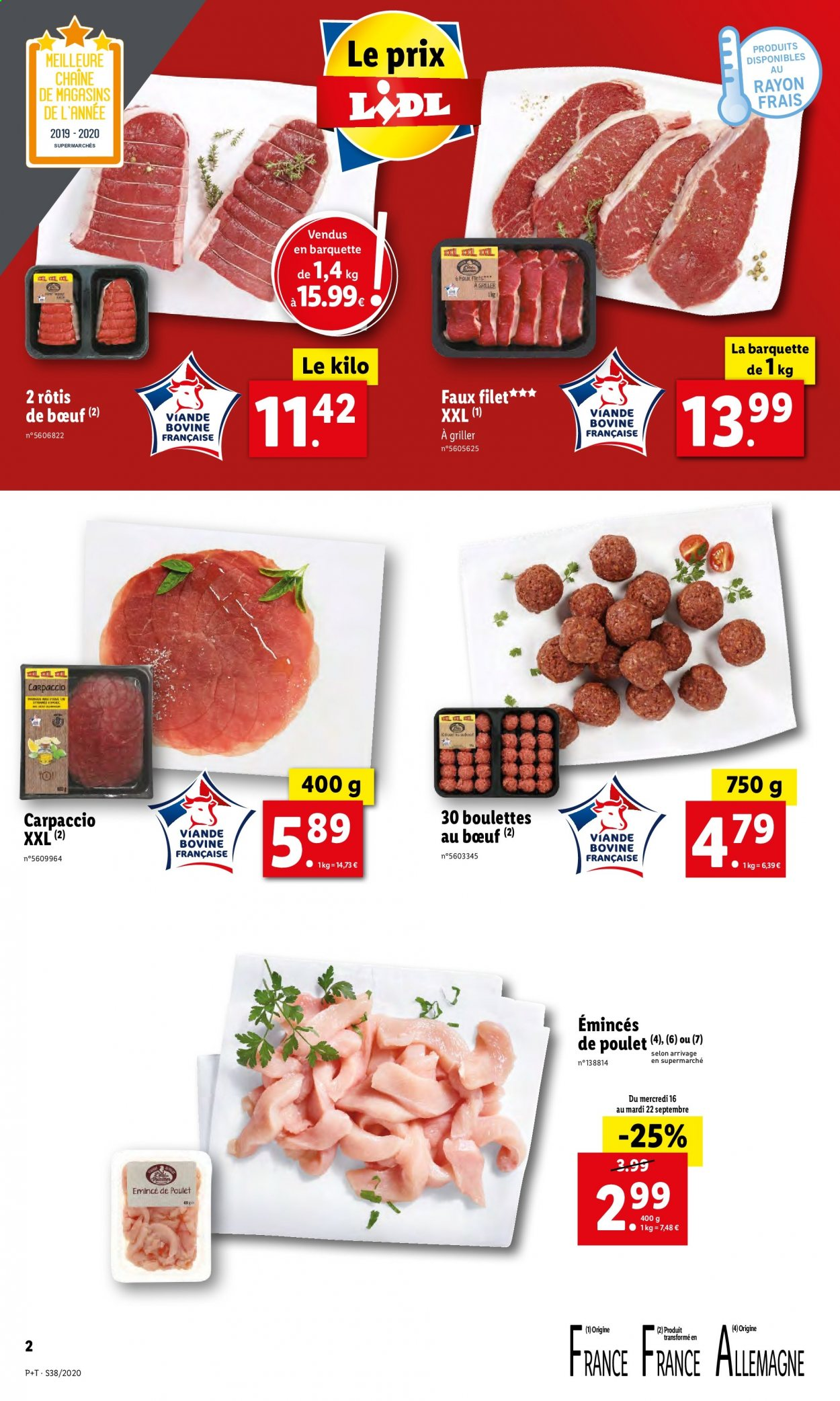 Catalogue Lidl - 16.09.2020 - 22.09.2020. Page 2.