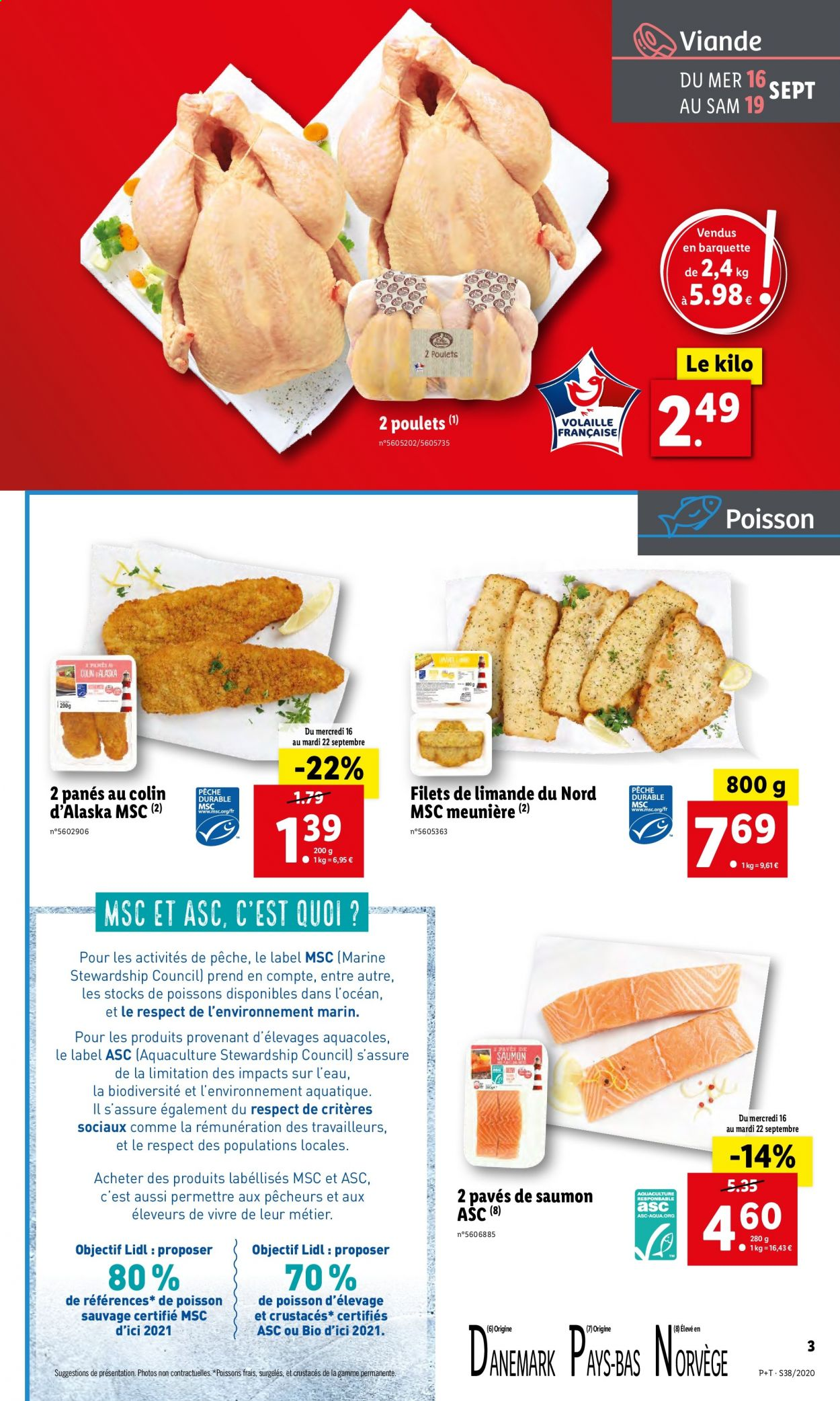 Catalogue Lidl - 16.09.2020 - 22.09.2020. Page 3.
