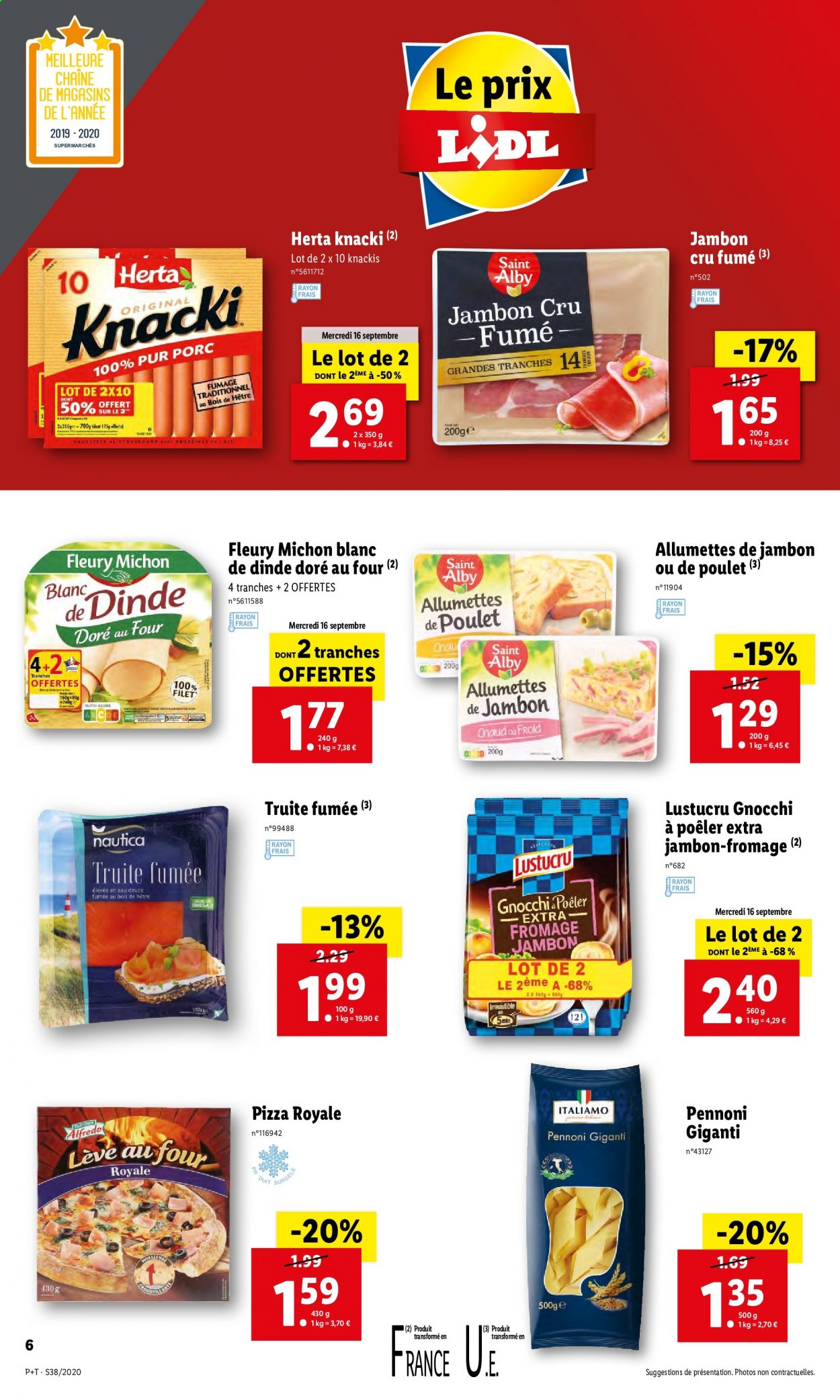 Catalogue Lidl - 16.09.2020 - 22.09.2020. Page 6.