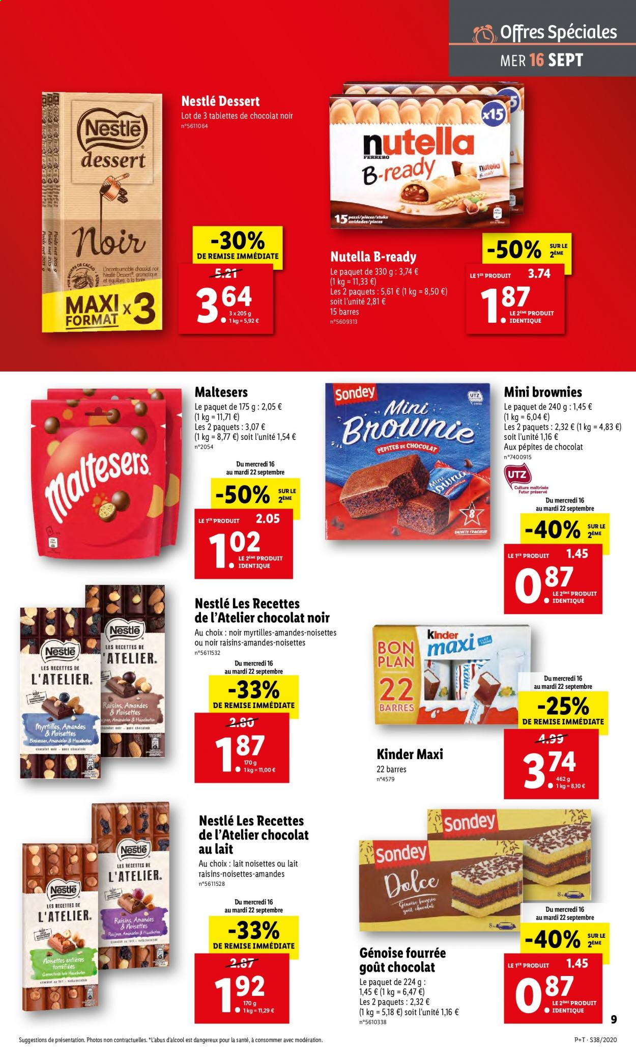Catalogue Lidl - 16.09.2020 - 22.09.2020. Page 9.