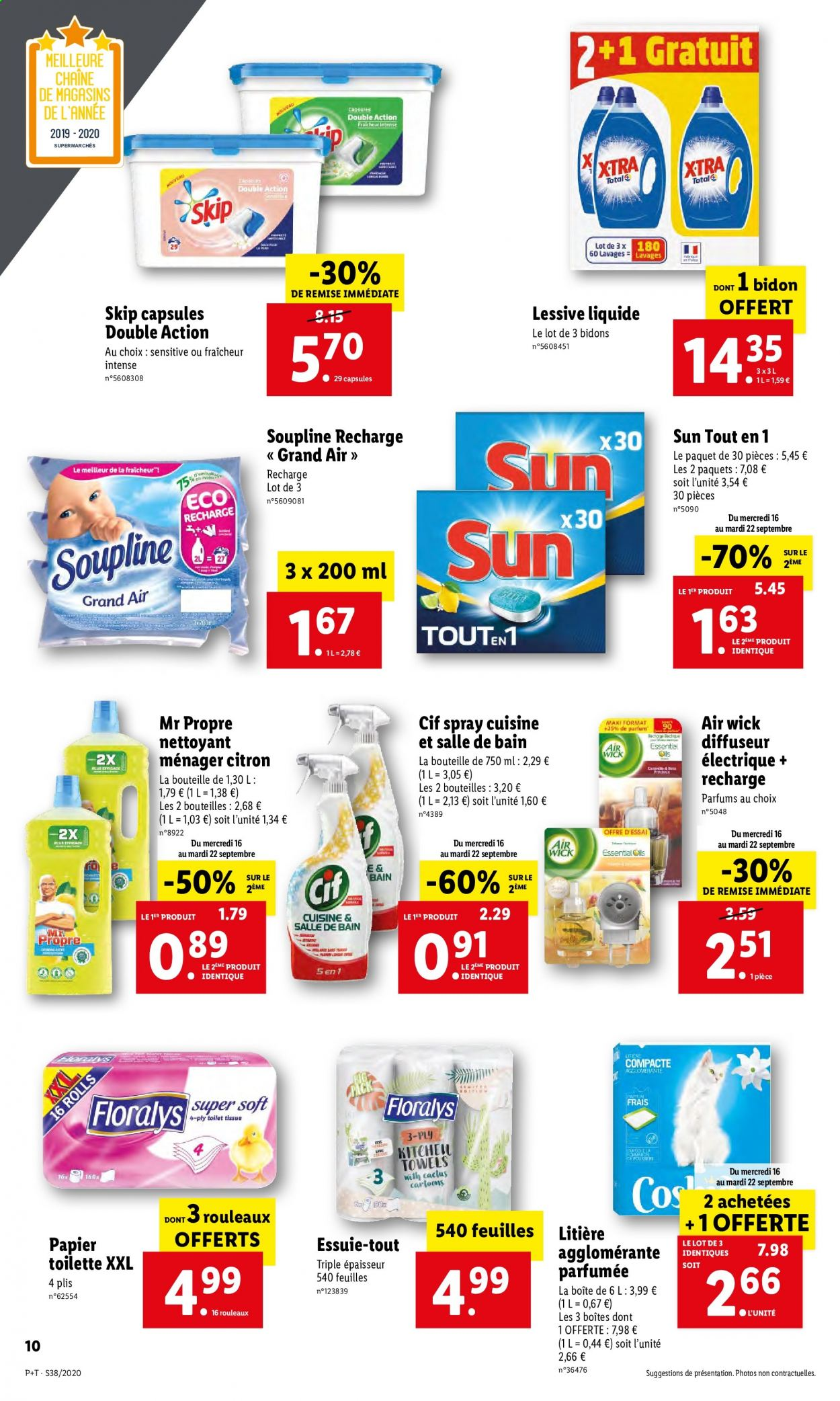 Catalogue Lidl - 16.09.2020 - 22.09.2020. Page 10.