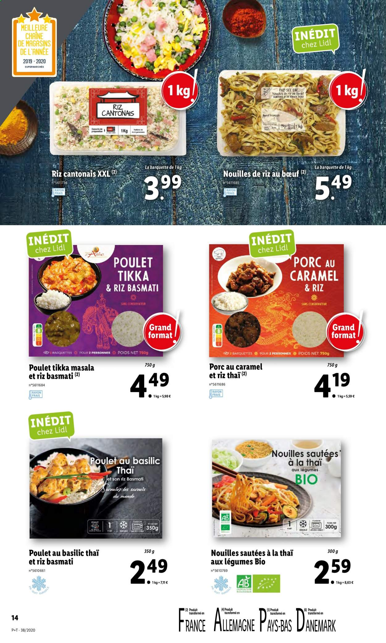 Catalogue Lidl - 16.09.2020 - 22.09.2020. Page 14.