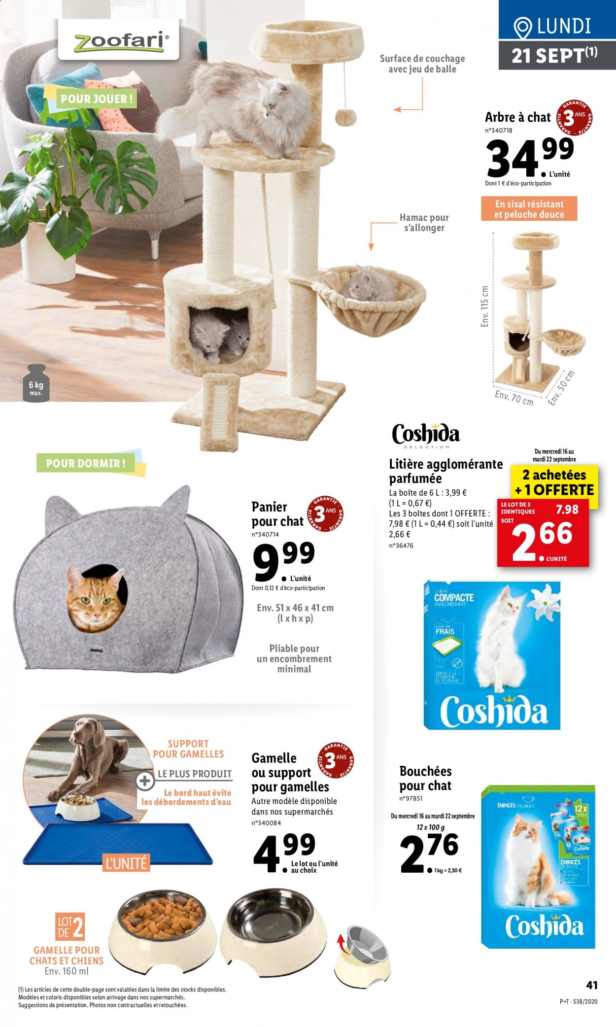 Catalogue Lidl - 16.09.2020 - 22.09.2020. Page 41.