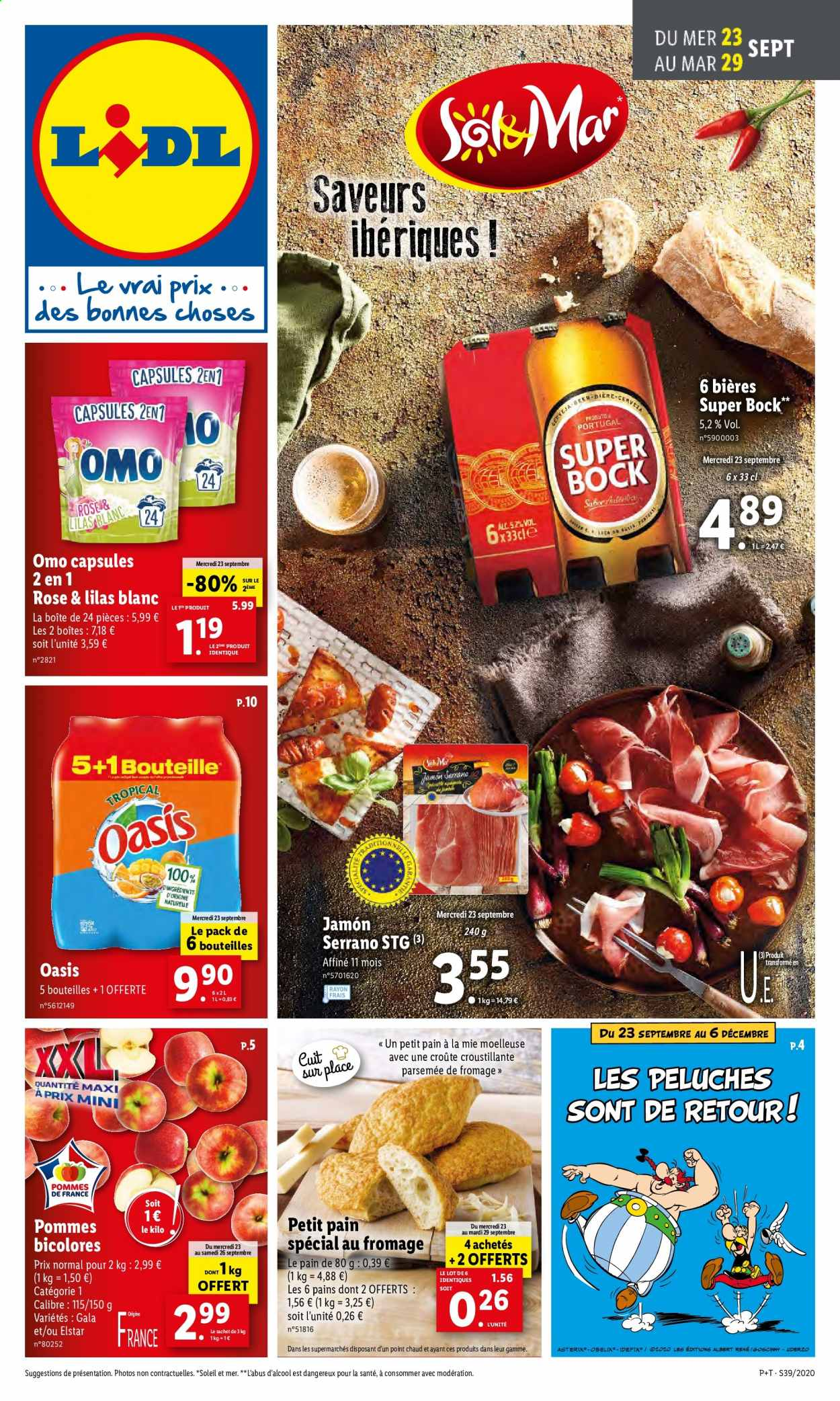 Catalogue Lidl - 23.09.2020 - 29.09.2020. Page 1.