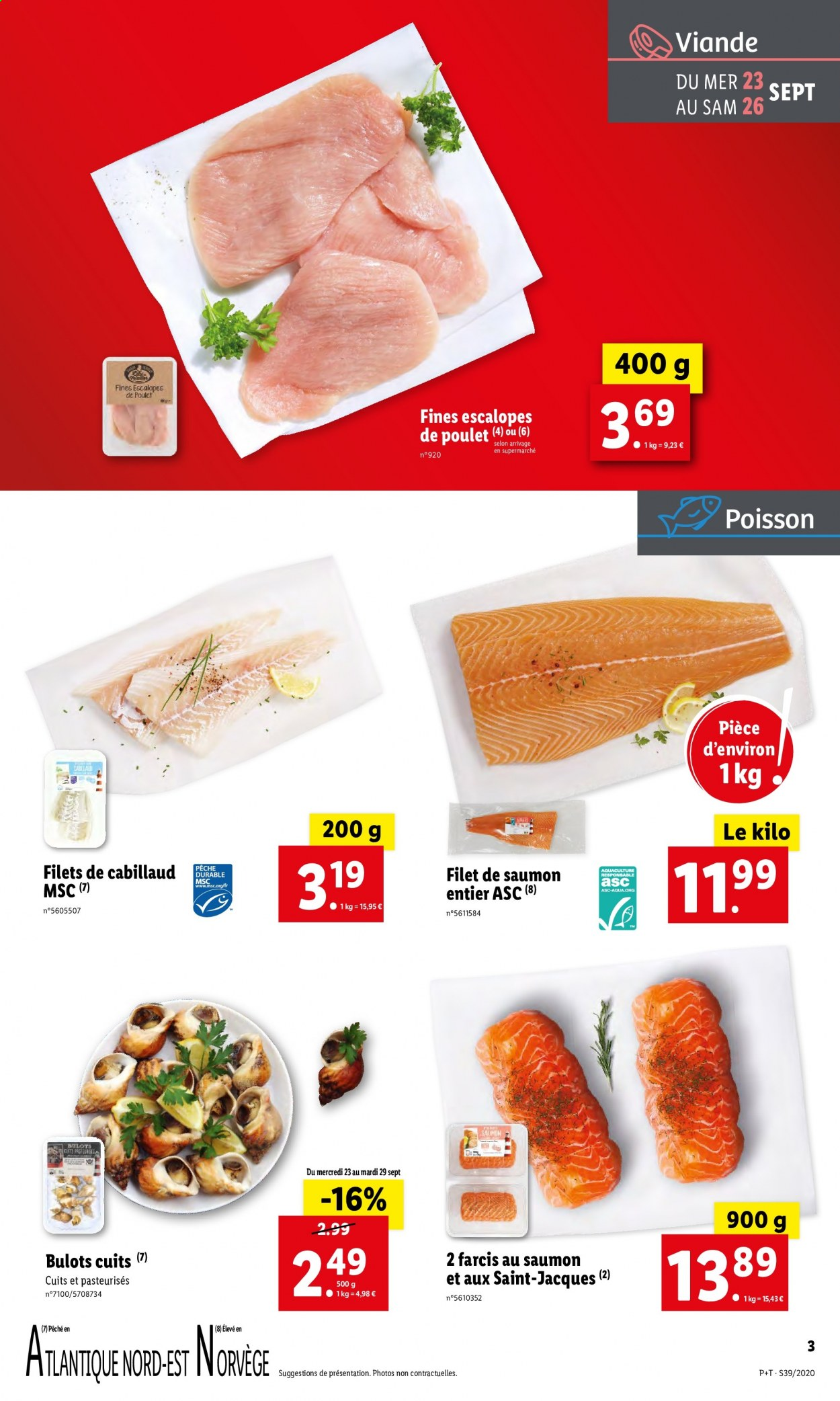 Catalogue Lidl - 23.09.2020 - 29.09.2020. Page 3.