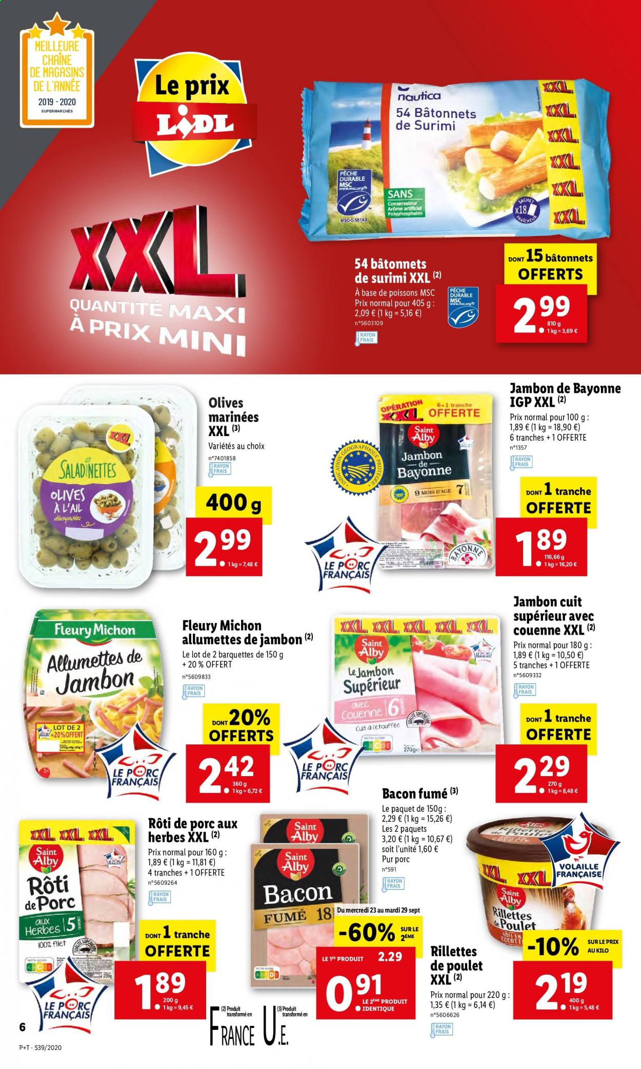 Catalogue Lidl - 23.09.2020 - 29.09.2020. Page 6.