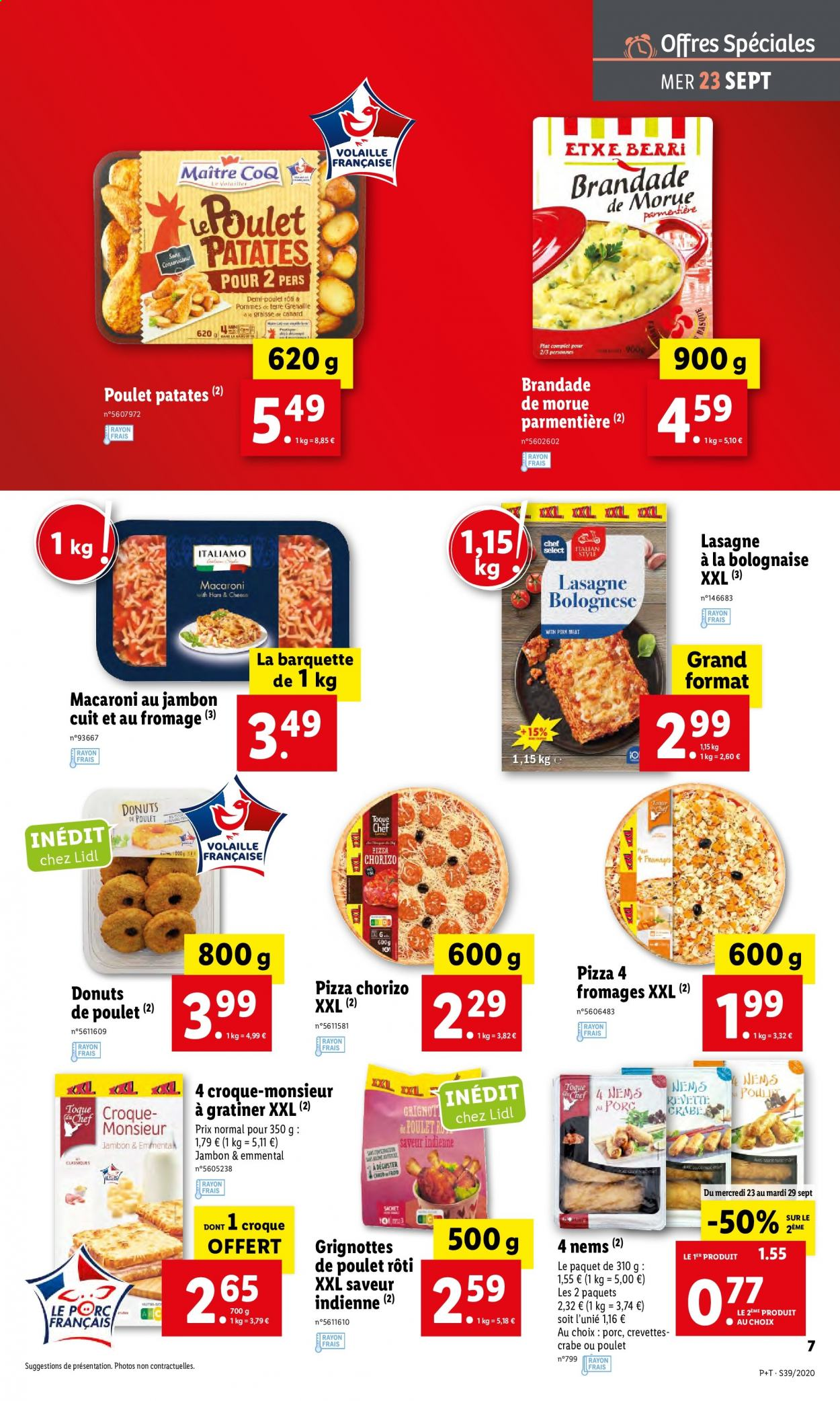 Catalogue Lidl - 23.09.2020 - 29.09.2020. Page 7.