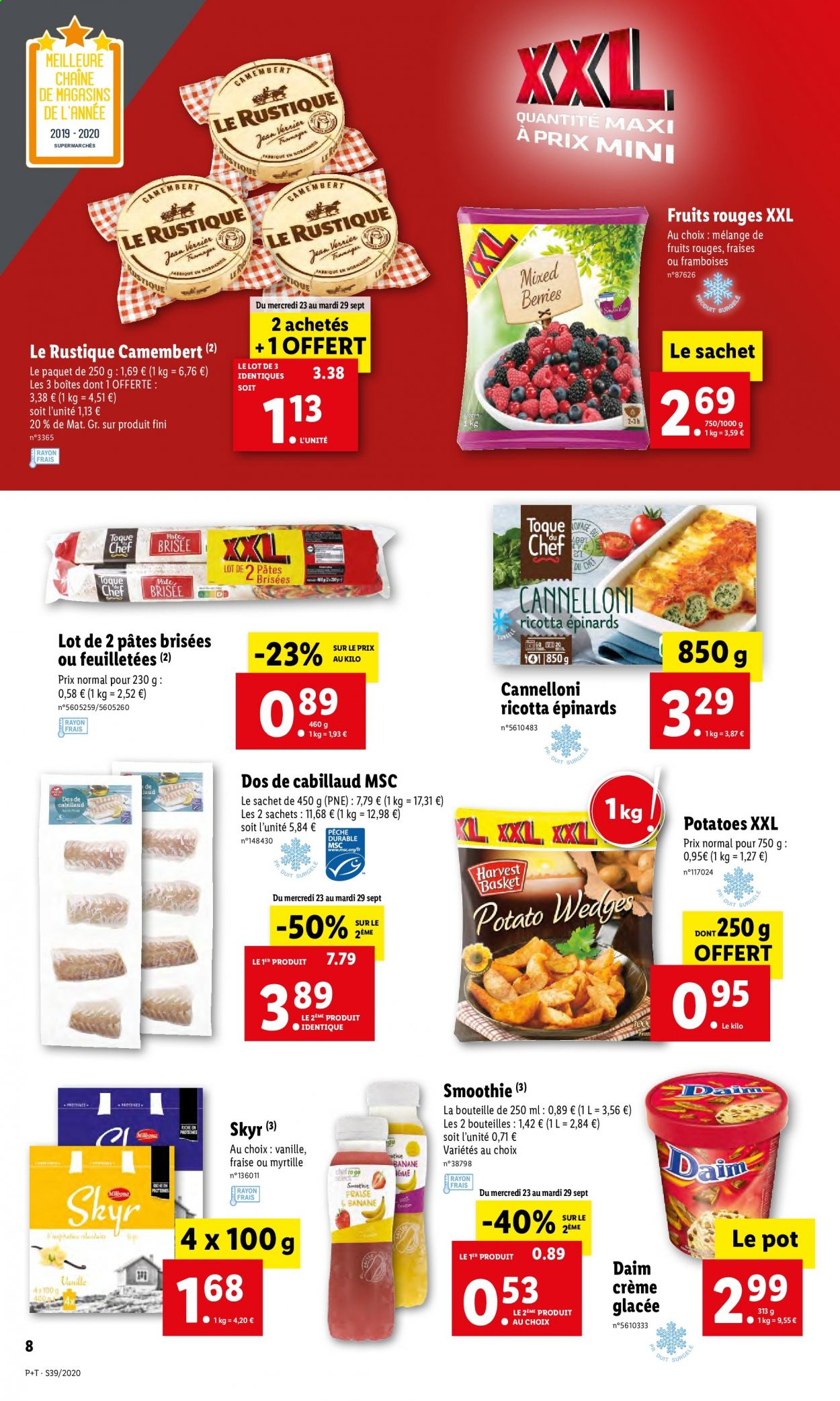 Catalogue Lidl - 23.09.2020 - 29.09.2020. Page 8.