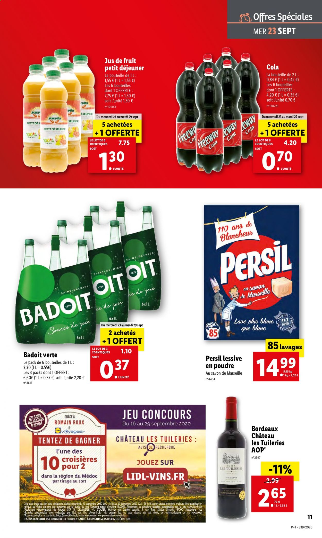 Catalogue Lidl - 23.09.2020 - 29.09.2020. Page 11.
