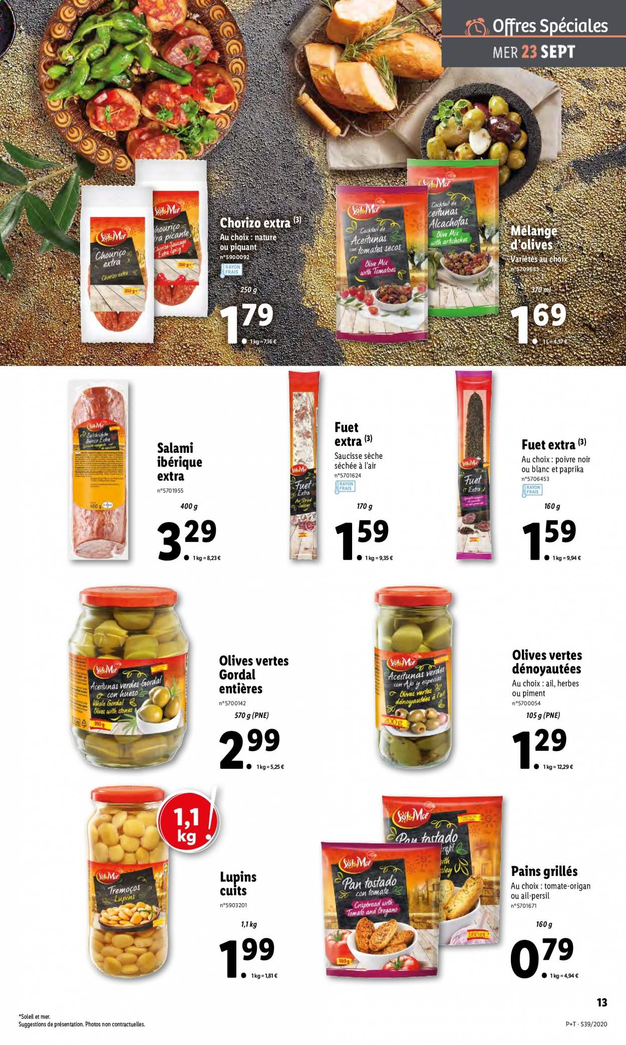 Catalogue Lidl - 23.09.2020 - 29.09.2020. Page 13.