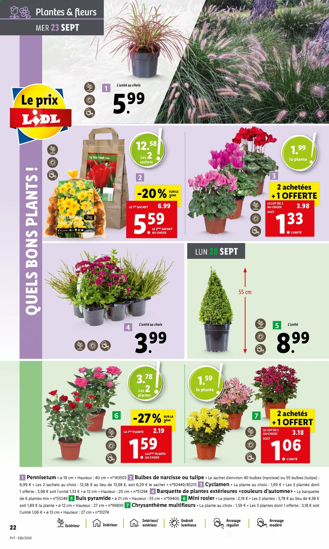 Catalogue Lidl - 23.09.2020 - 29.09.2020. Page 22.