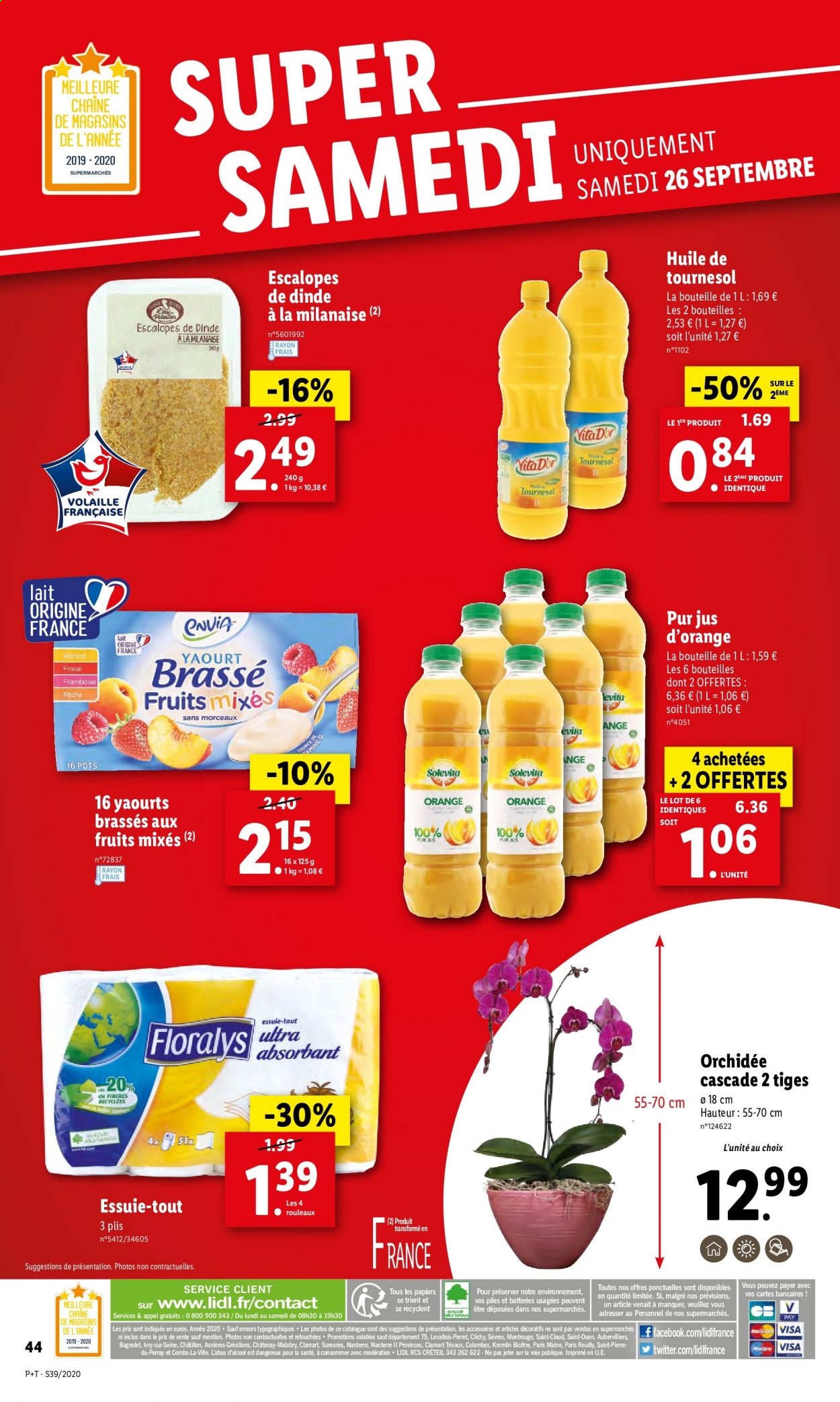 Catalogue Lidl - 23.09.2020 - 29.09.2020. Page 44.