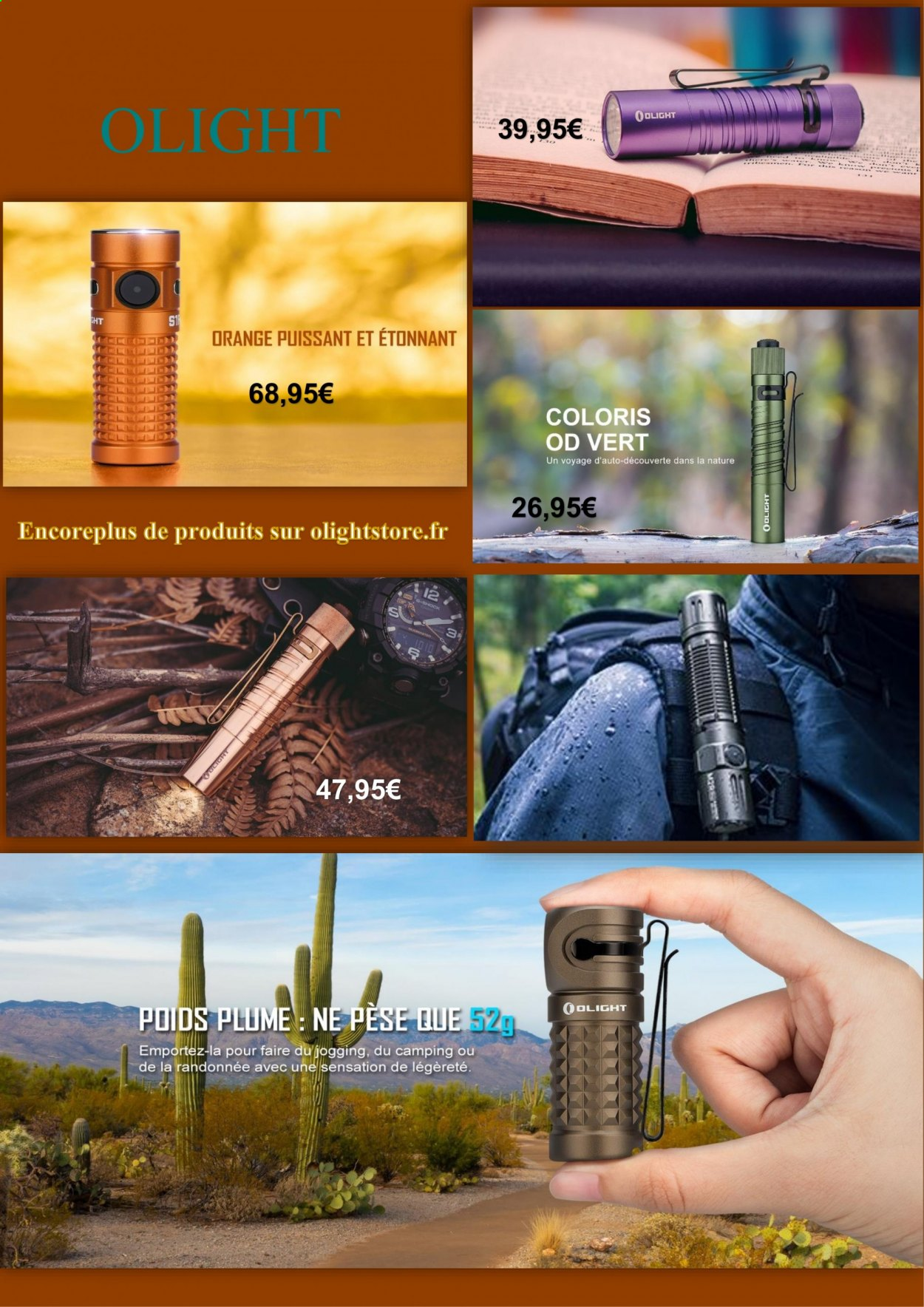 Catalogue OLIGHT. Page 1.