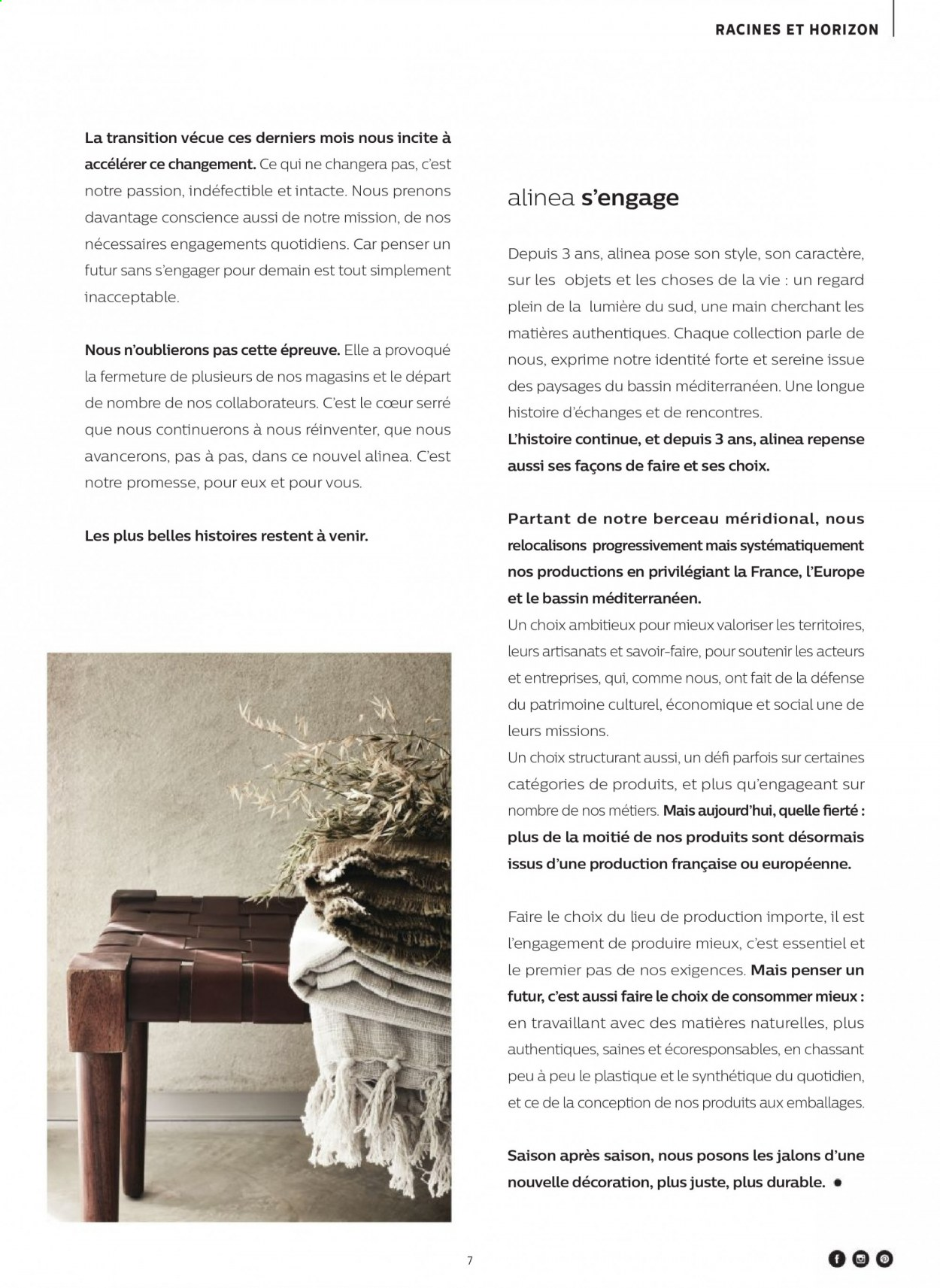 Catalogue alinea - 24.09.2020 - 30.11.2020. Page 7.
