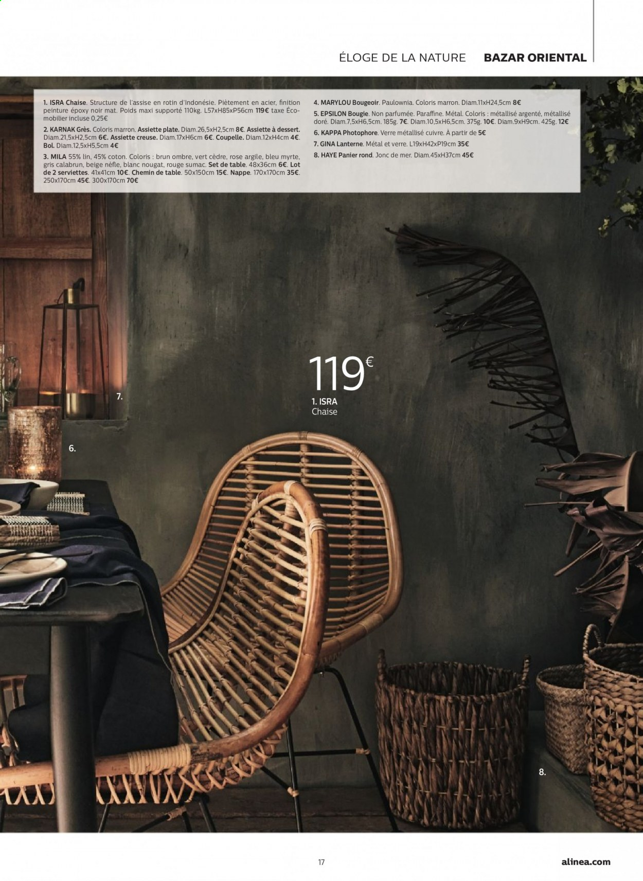 Catalogue alinea - 24.09.2020 - 30.11.2020. Page 17.