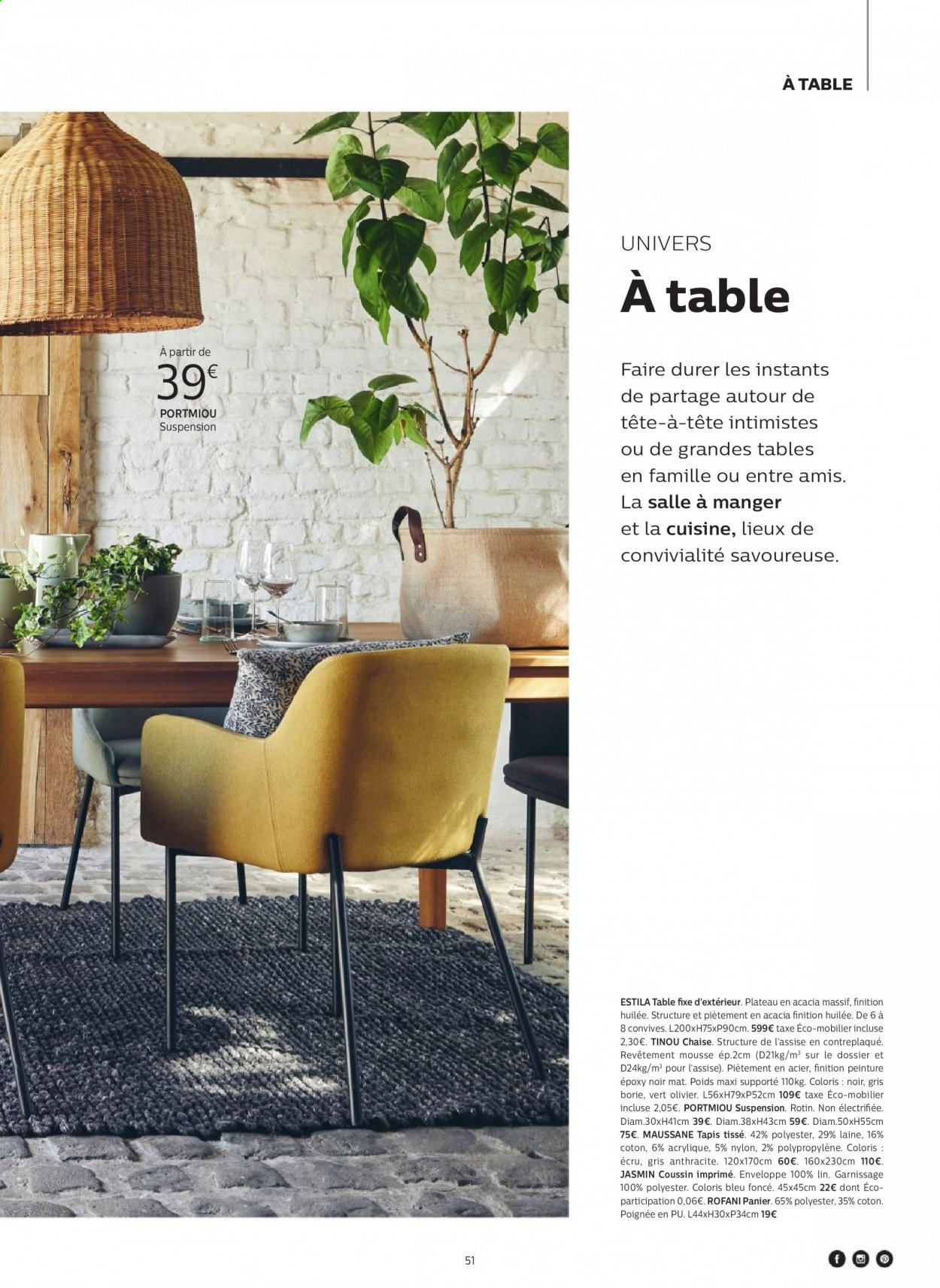 Catalogue alinea - 24.09.2020 - 30.11.2020. Page 51.