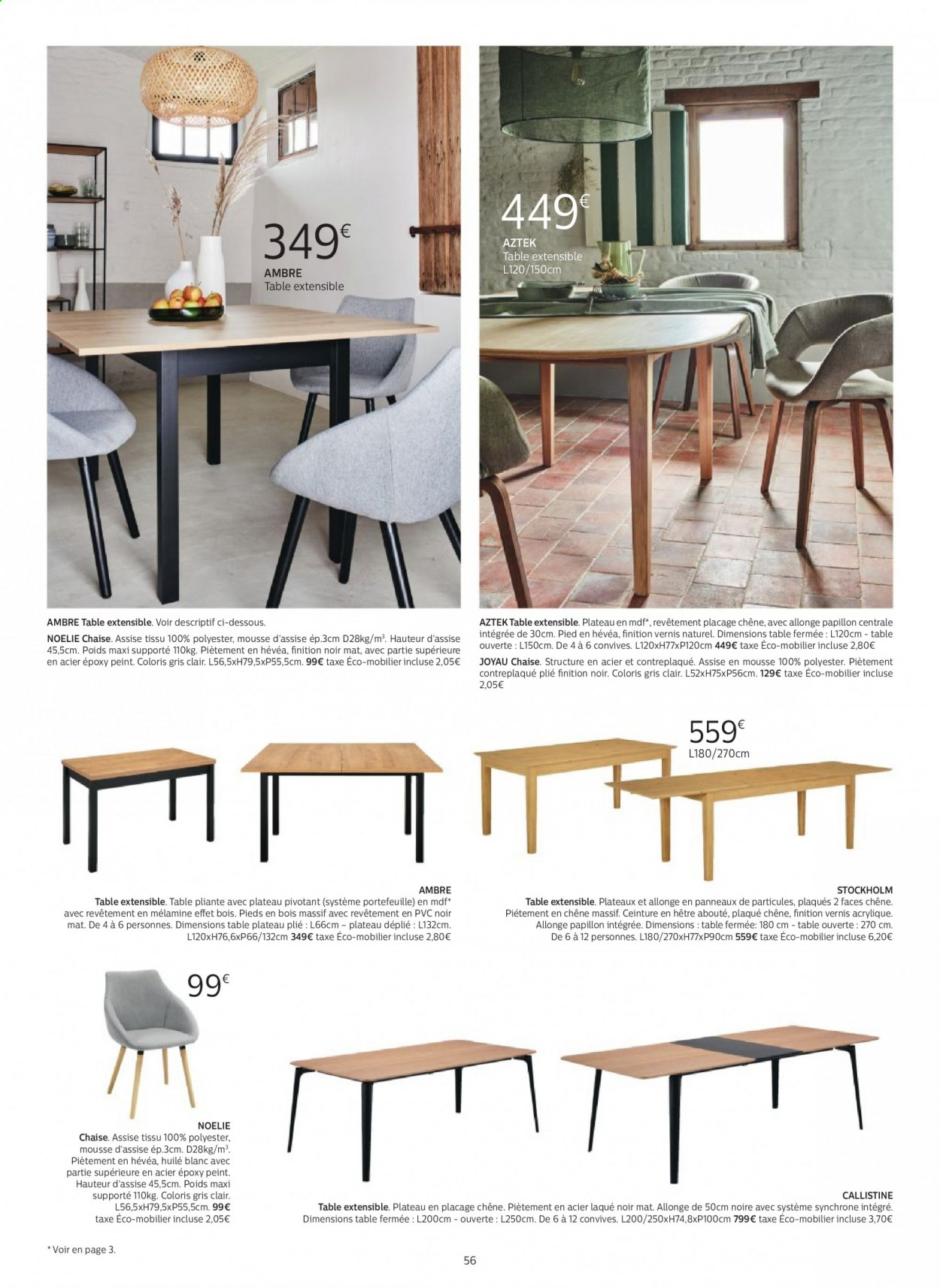 Catalogue alinea - 24.09.2020 - 30.11.2020. Page 56.