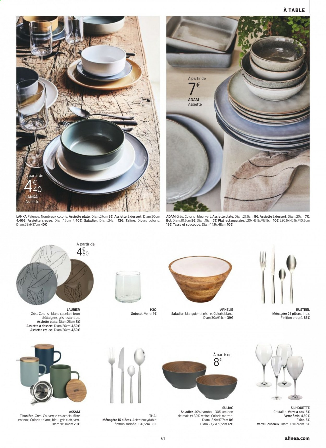 Catalogue alinea - 24.09.2020 - 30.11.2020. Page 61.