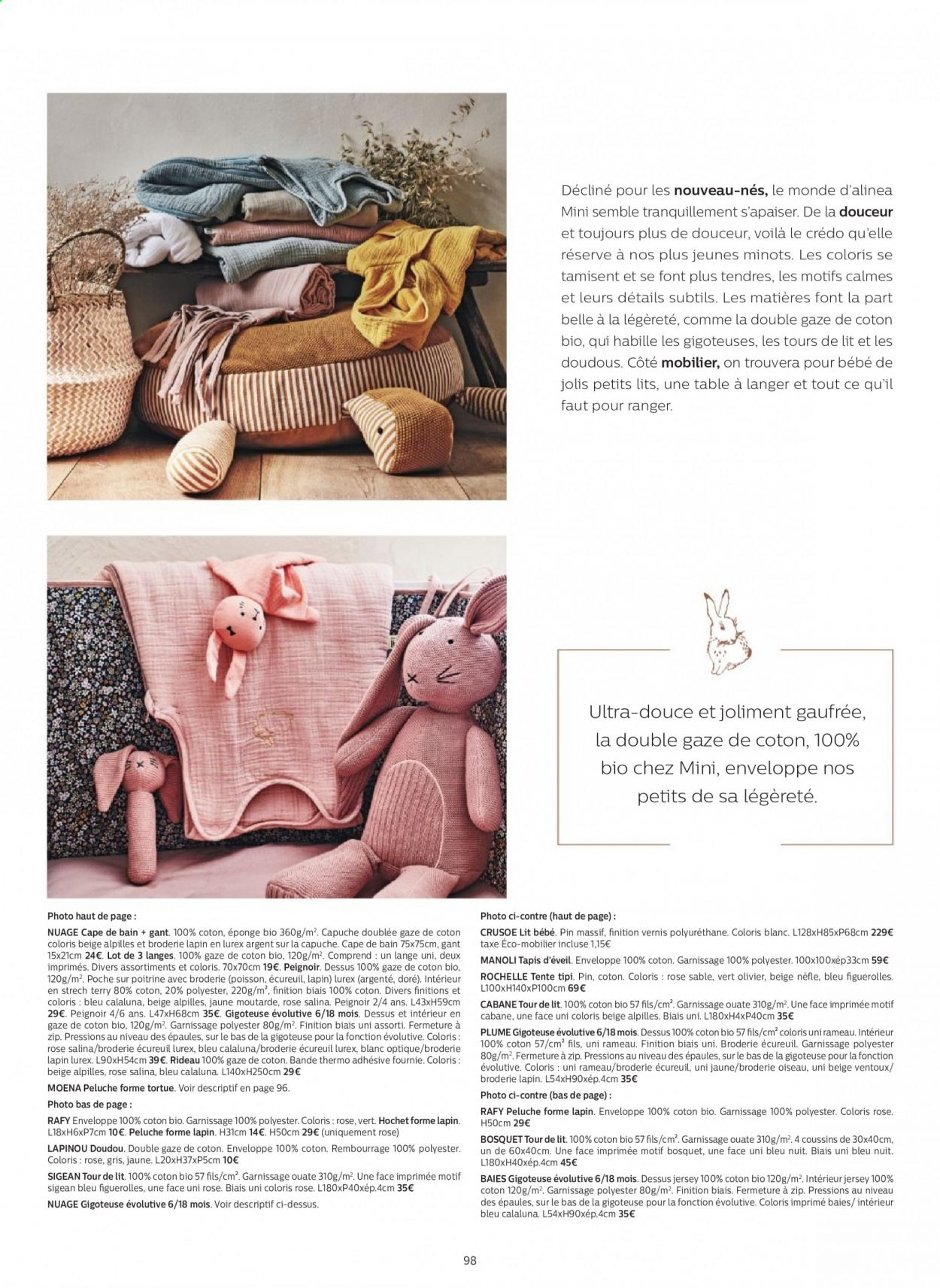 Catalogue alinea - 24.09.2020 - 30.11.2020. Page 98.