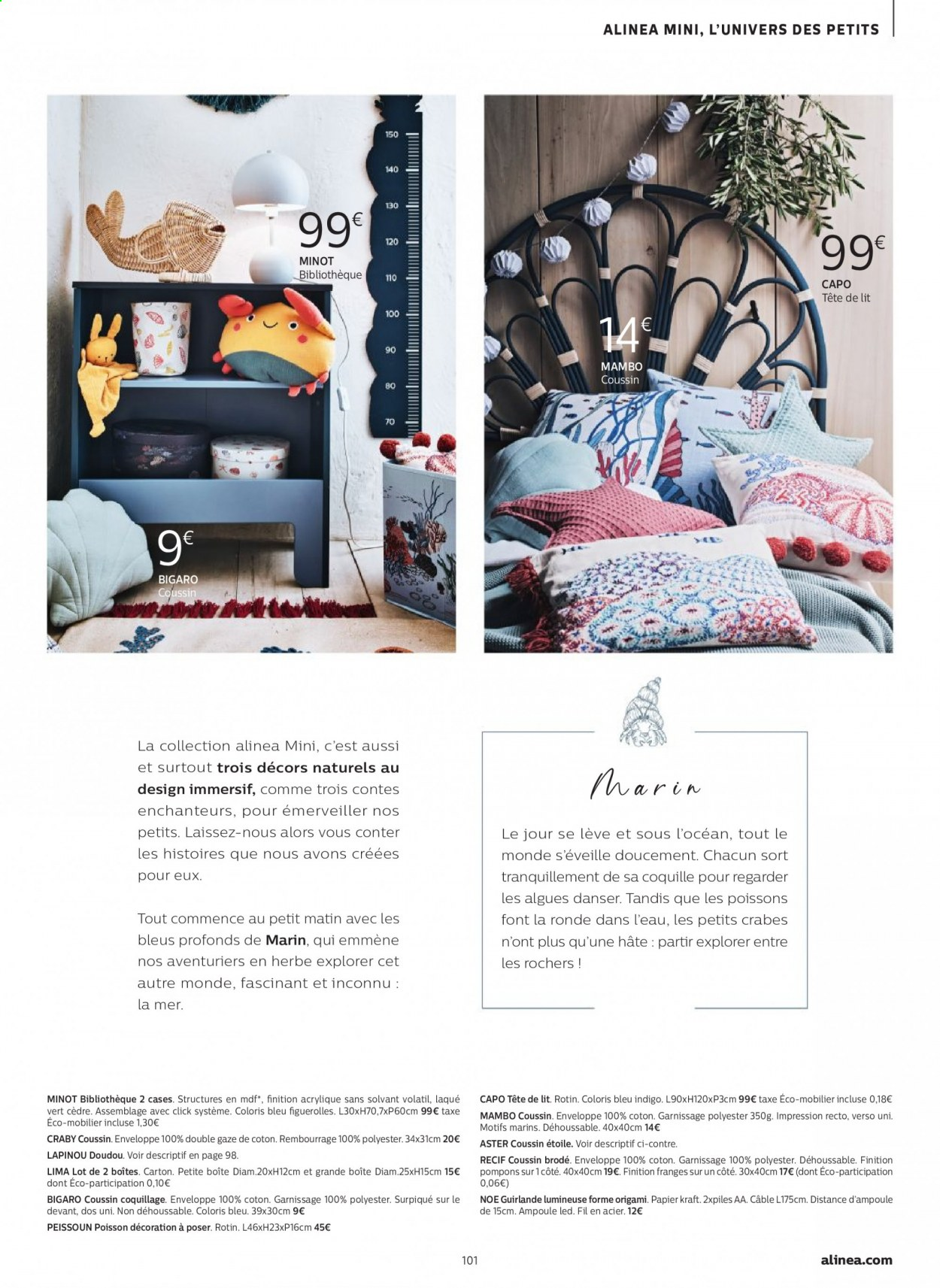 Catalogue alinea - 24.09.2020 - 30.11.2020. Page 101.