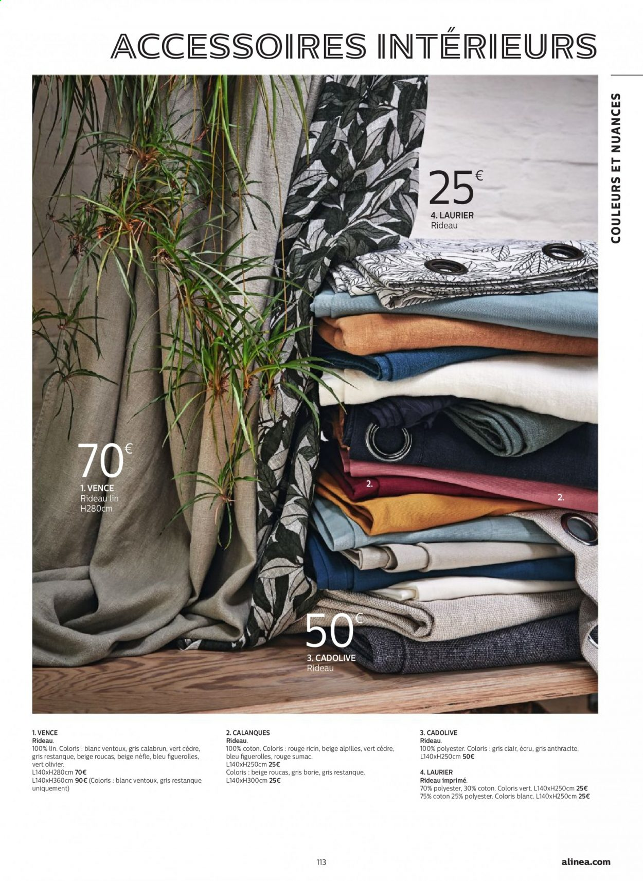 Catalogue alinea - 24.09.2020 - 30.11.2020. Page 113.