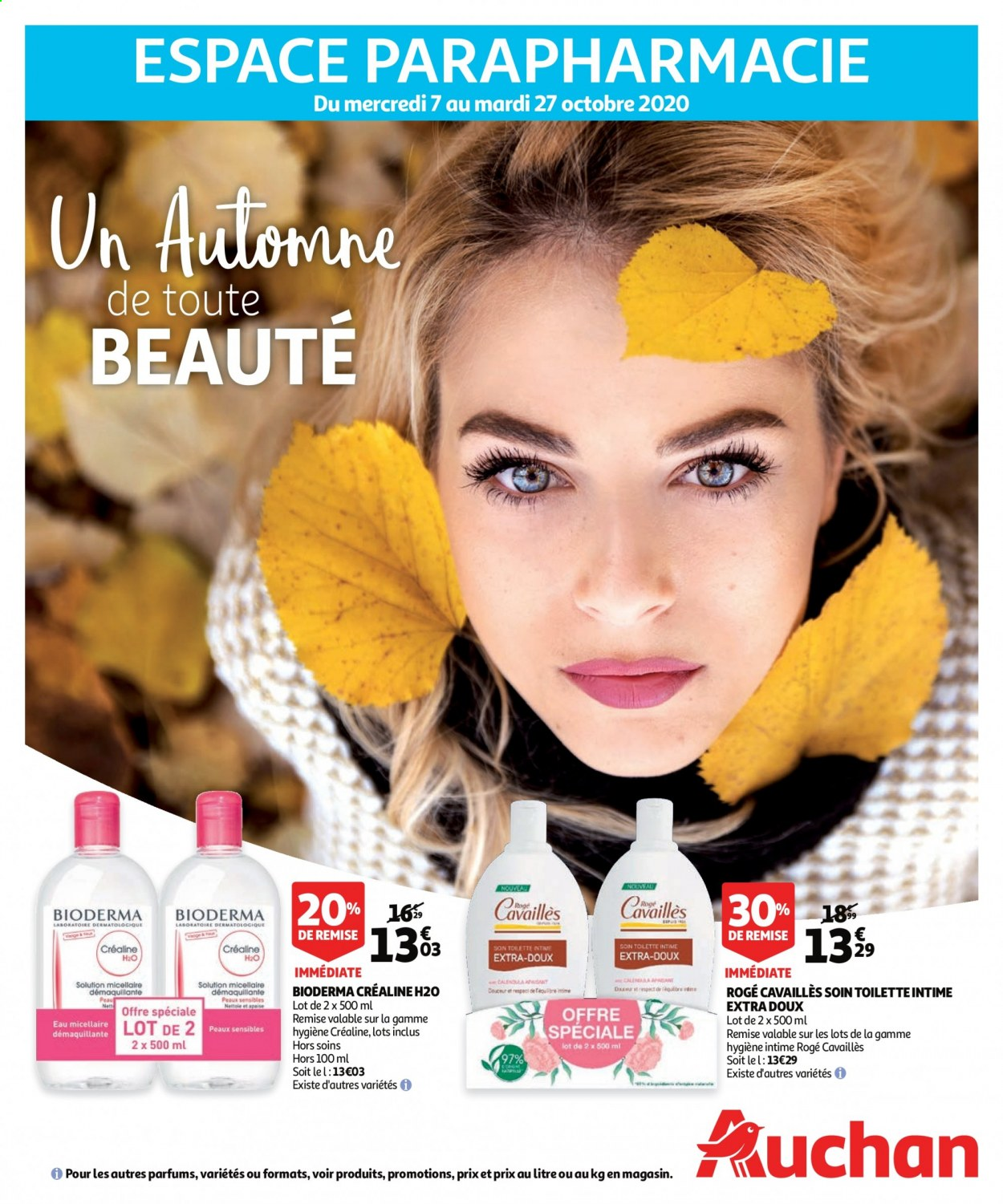 Catalogue Auchan - 07.10.2020 - 27.10.2020. Page 1.
