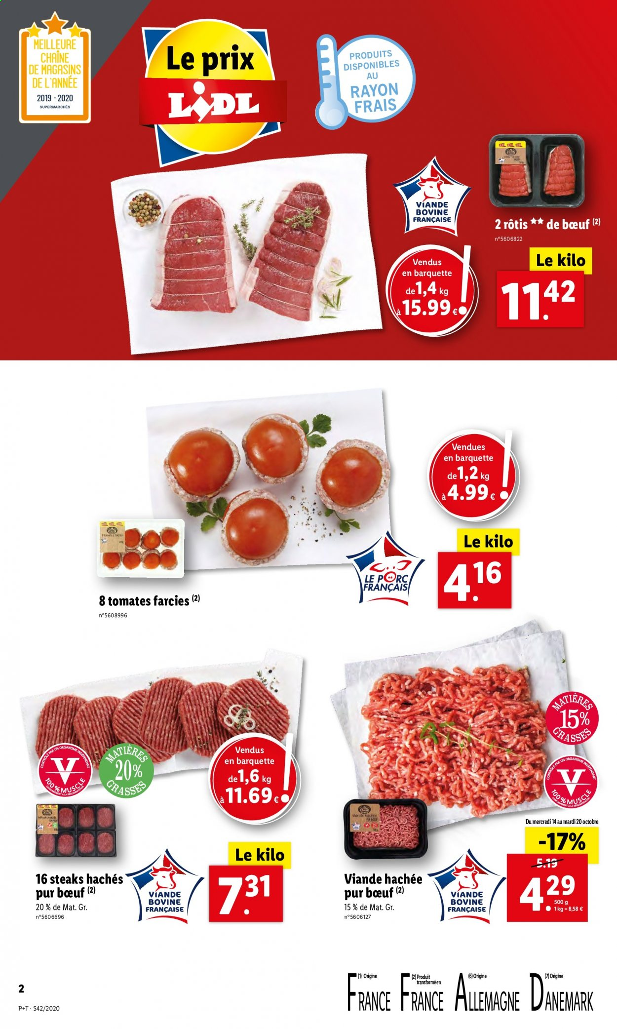 Catalogue Lidl - 14.10.2020 - 20.10.2020. Page 2.