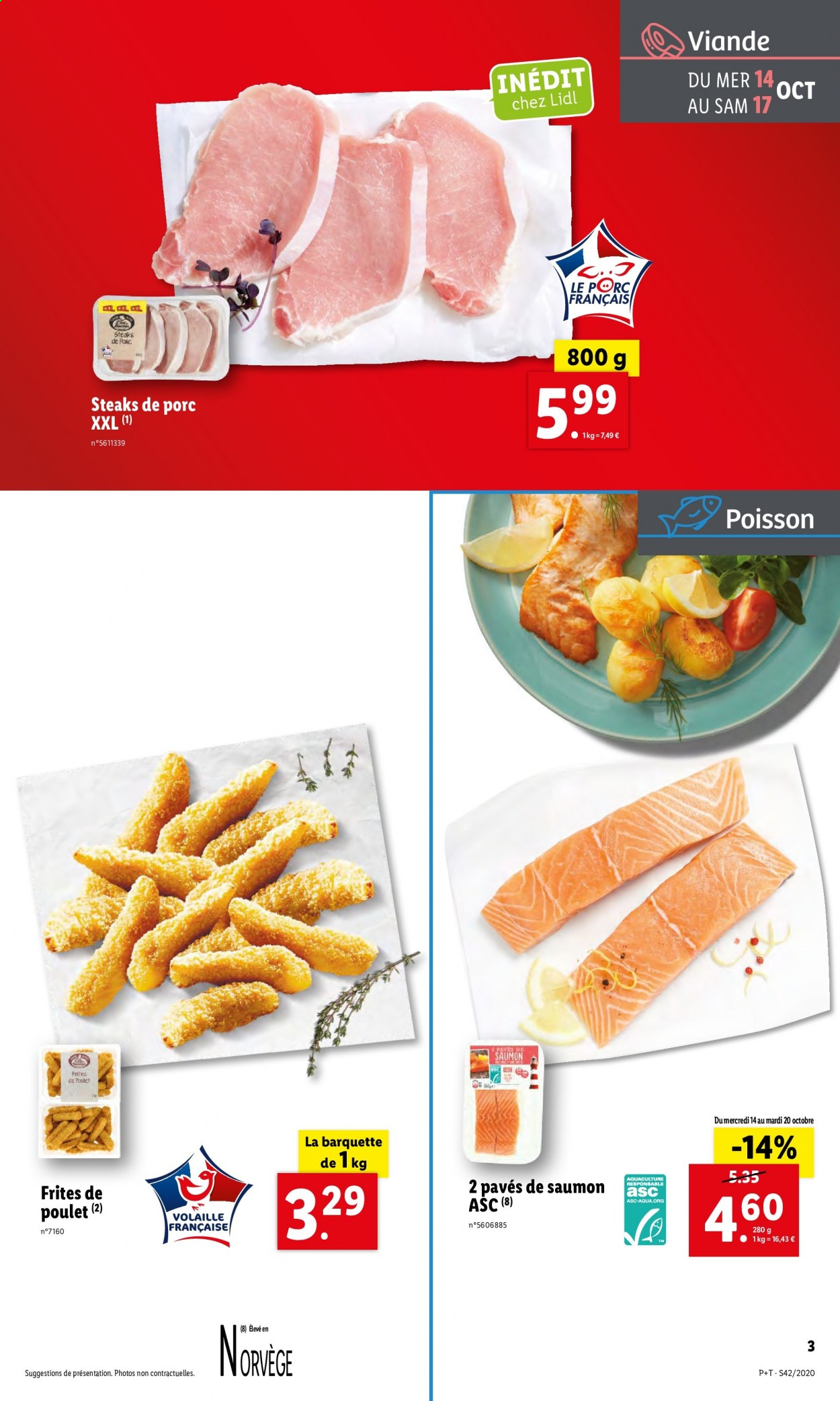 Catalogue Lidl - 14.10.2020 - 20.10.2020. Page 3.