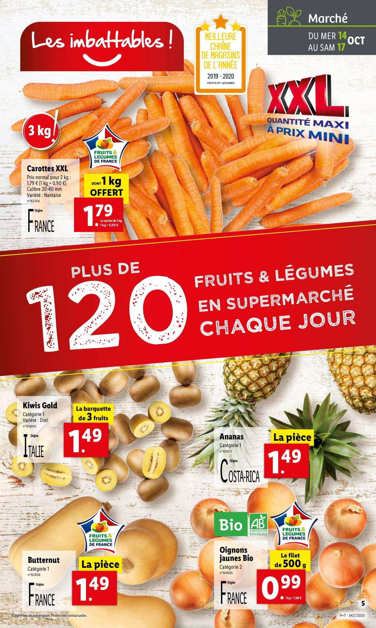 Catalogue Lidl - 14.10.2020 - 20.10.2020. Page 5.