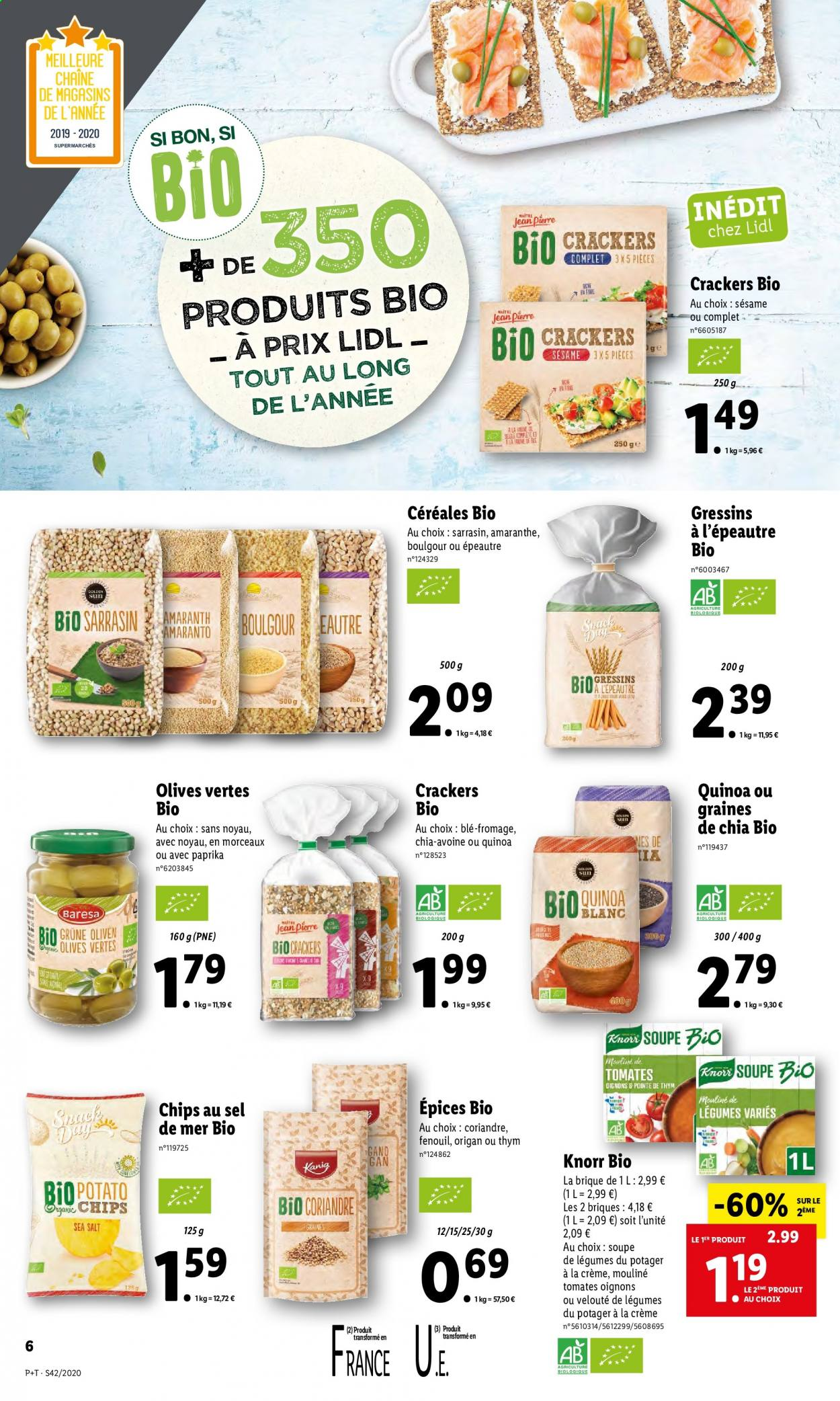 Catalogue Lidl - 14.10.2020 - 20.10.2020. Page 6.