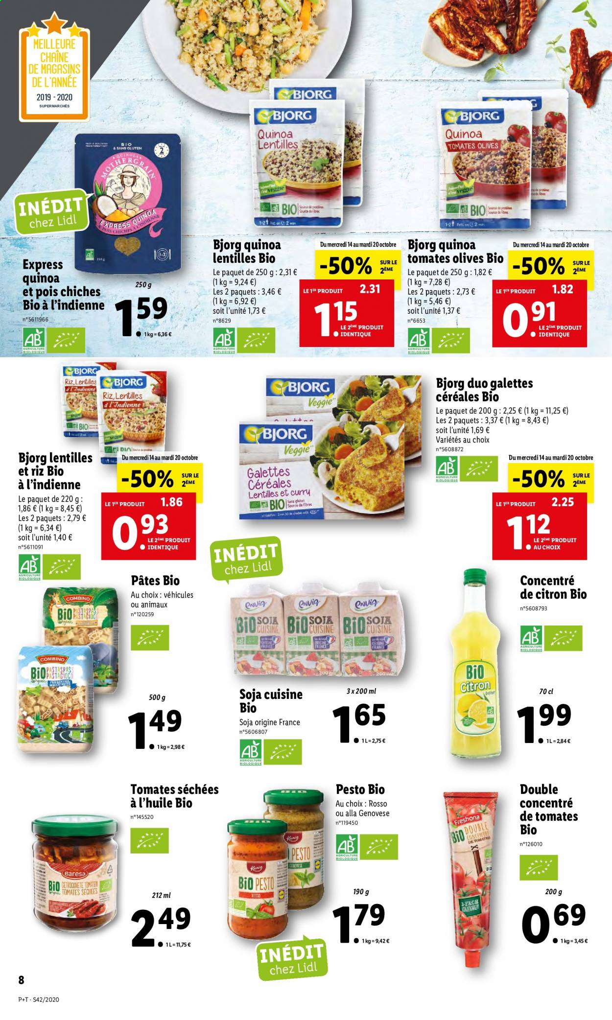 Catalogue Lidl - 14.10.2020 - 20.10.2020. Page 8.