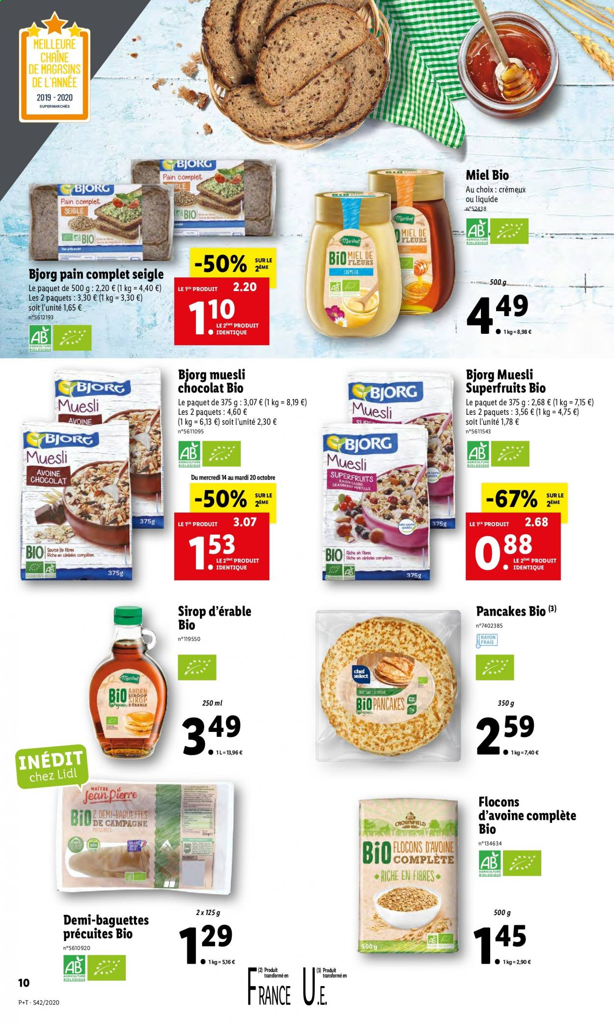 Catalogue Lidl - 14.10.2020 - 20.10.2020. Page 10.