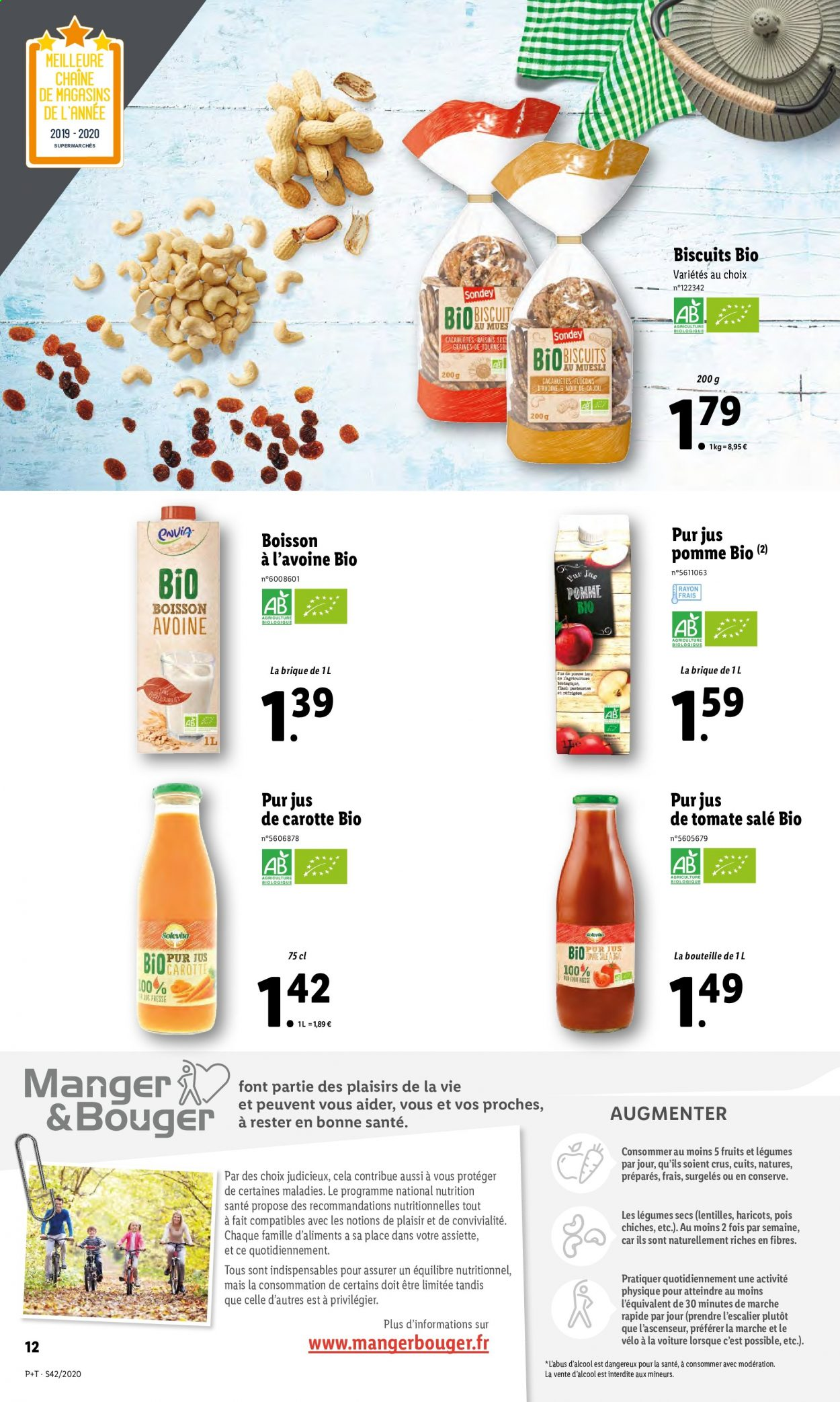 Catalogue Lidl - 14.10.2020 - 20.10.2020. Page 12.