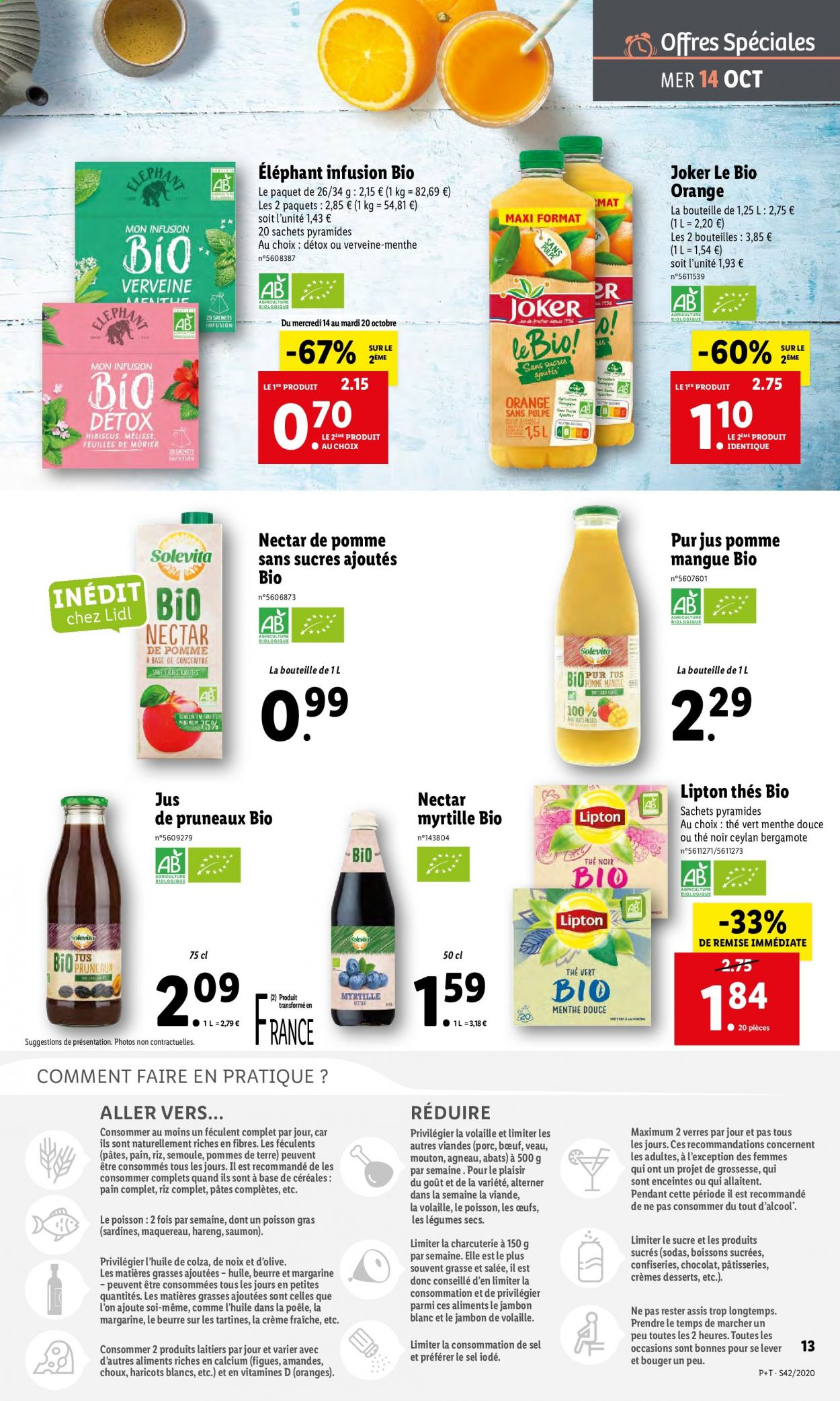Catalogue Lidl - 14.10.2020 - 20.10.2020. Page 13.