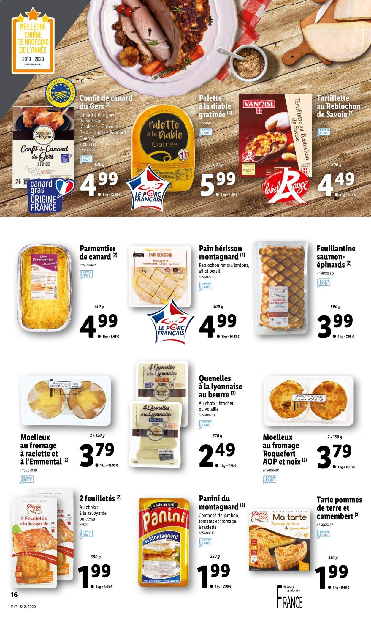 Catalogue Lidl - 14.10.2020 - 20.10.2020. Page 16.